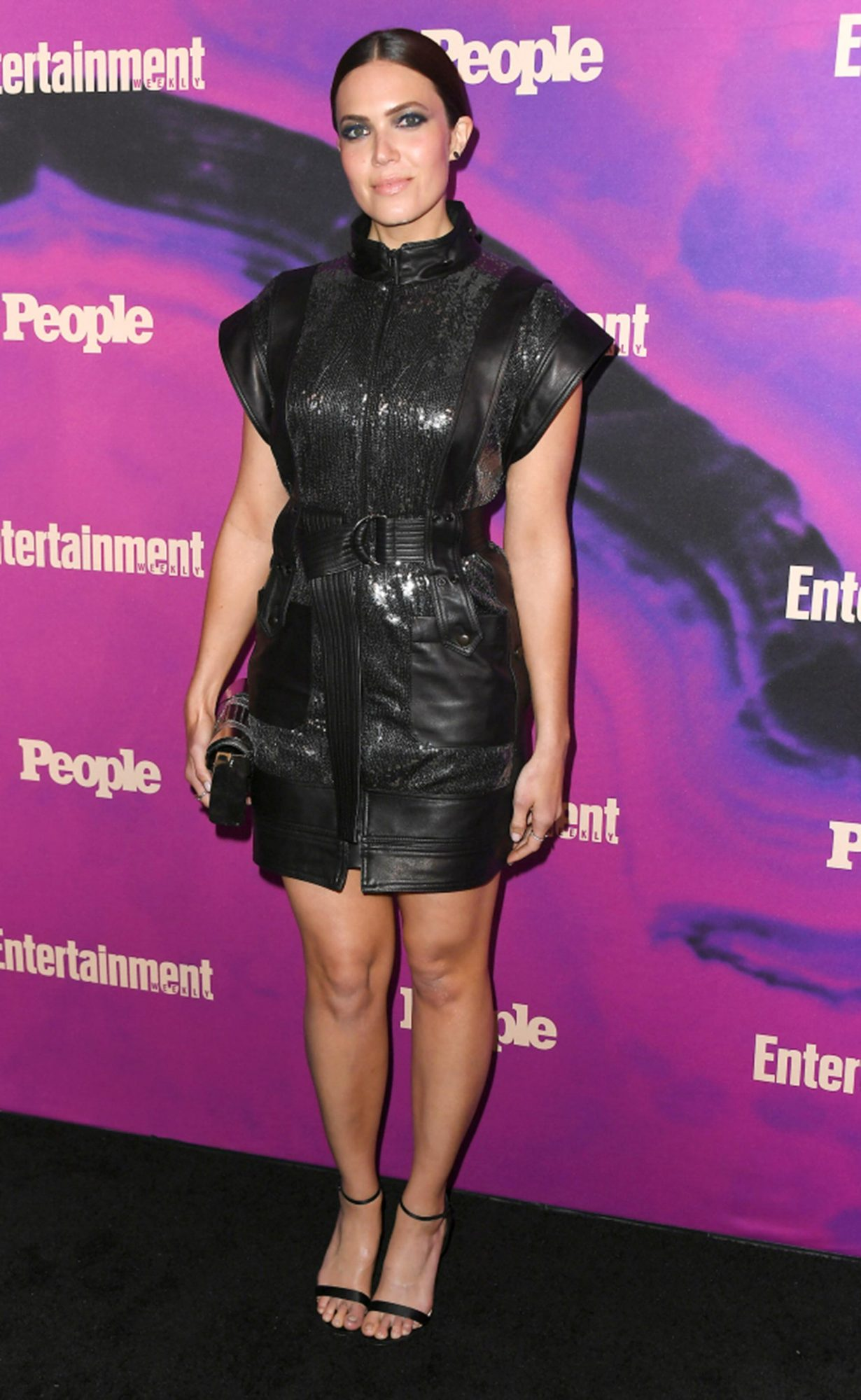 NEW YORK, NEW YORK - MAY 13: Mandy Moore attends the People & Entertainment Weekly 2019 Upfronts at Union Park on May 13, 2019 in New York City. (Photo by Nicholas Hunt/Getty Images)
