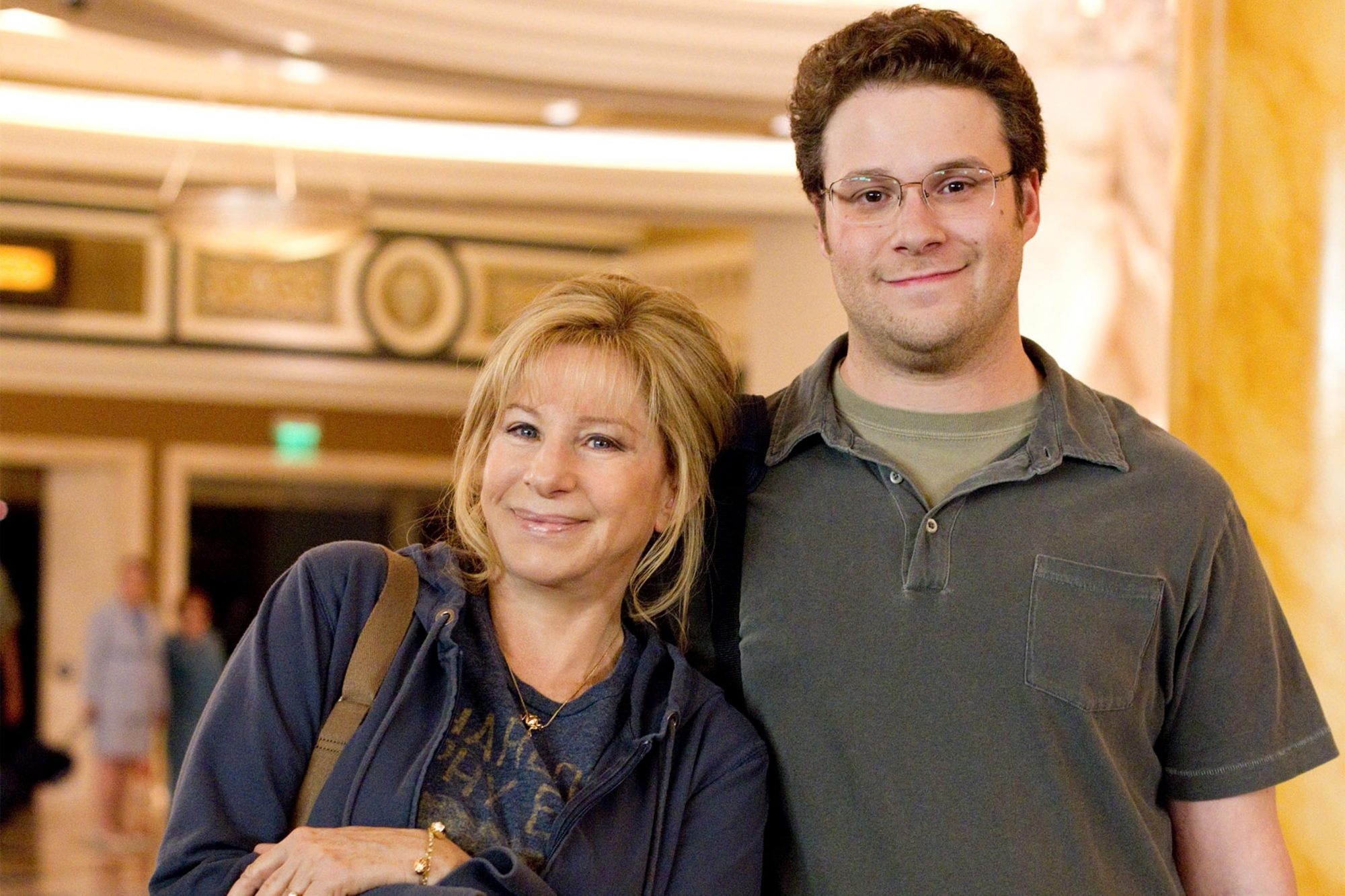 14. Seth Rogen and Barbra Streisand in The Guilt Trip (2012)