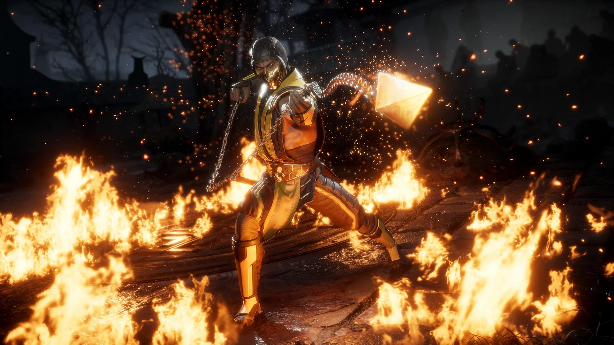 Mortal Kombat 11 video game Scorpion CR: NetherRealm Studios/Warner Bros. Interactive Entertainment