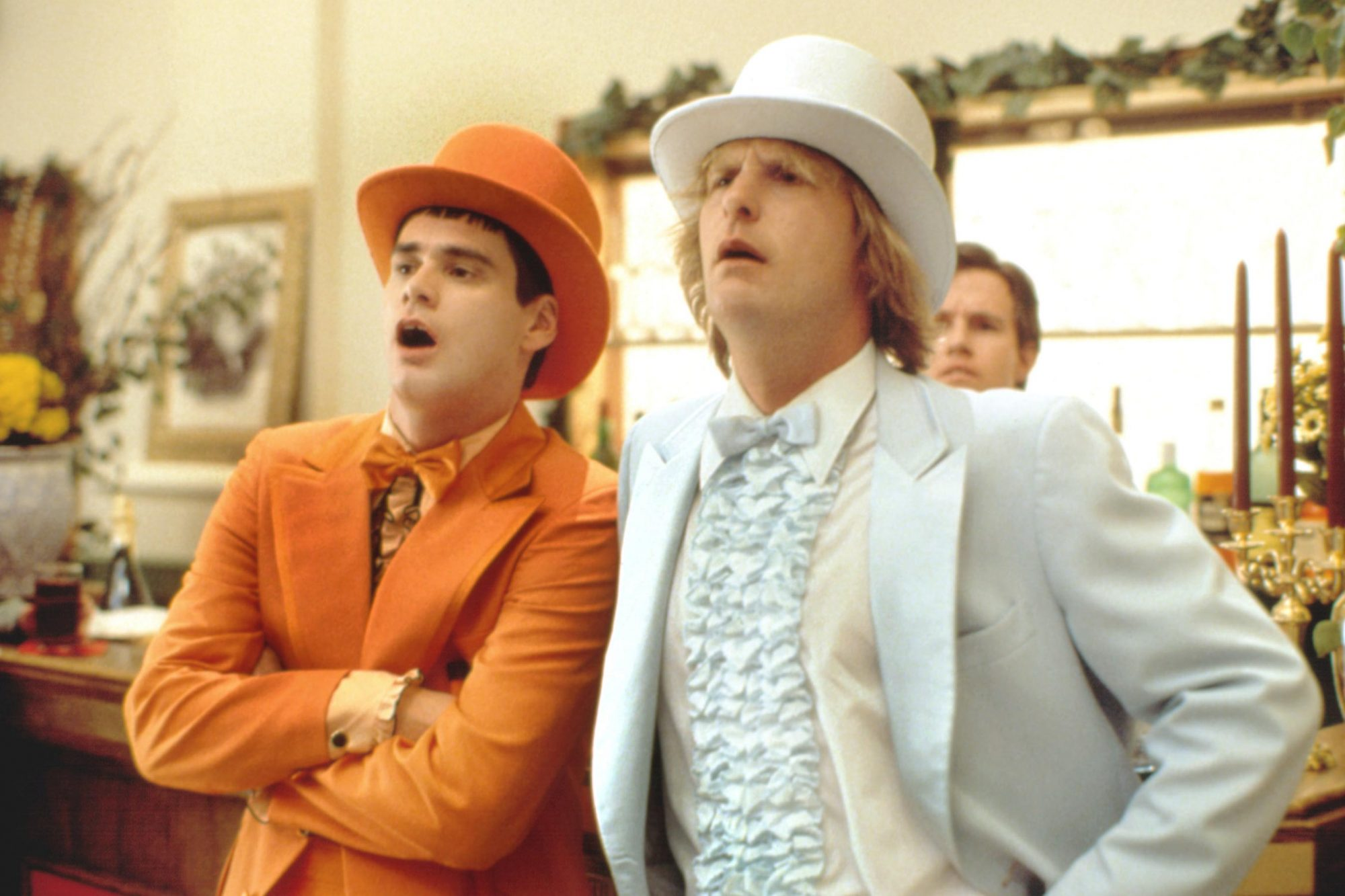 DUMB AND DUMBER, Jim Carrey, Jeff Daniels, 1994, (c) New Line/courtesy Everett Collection