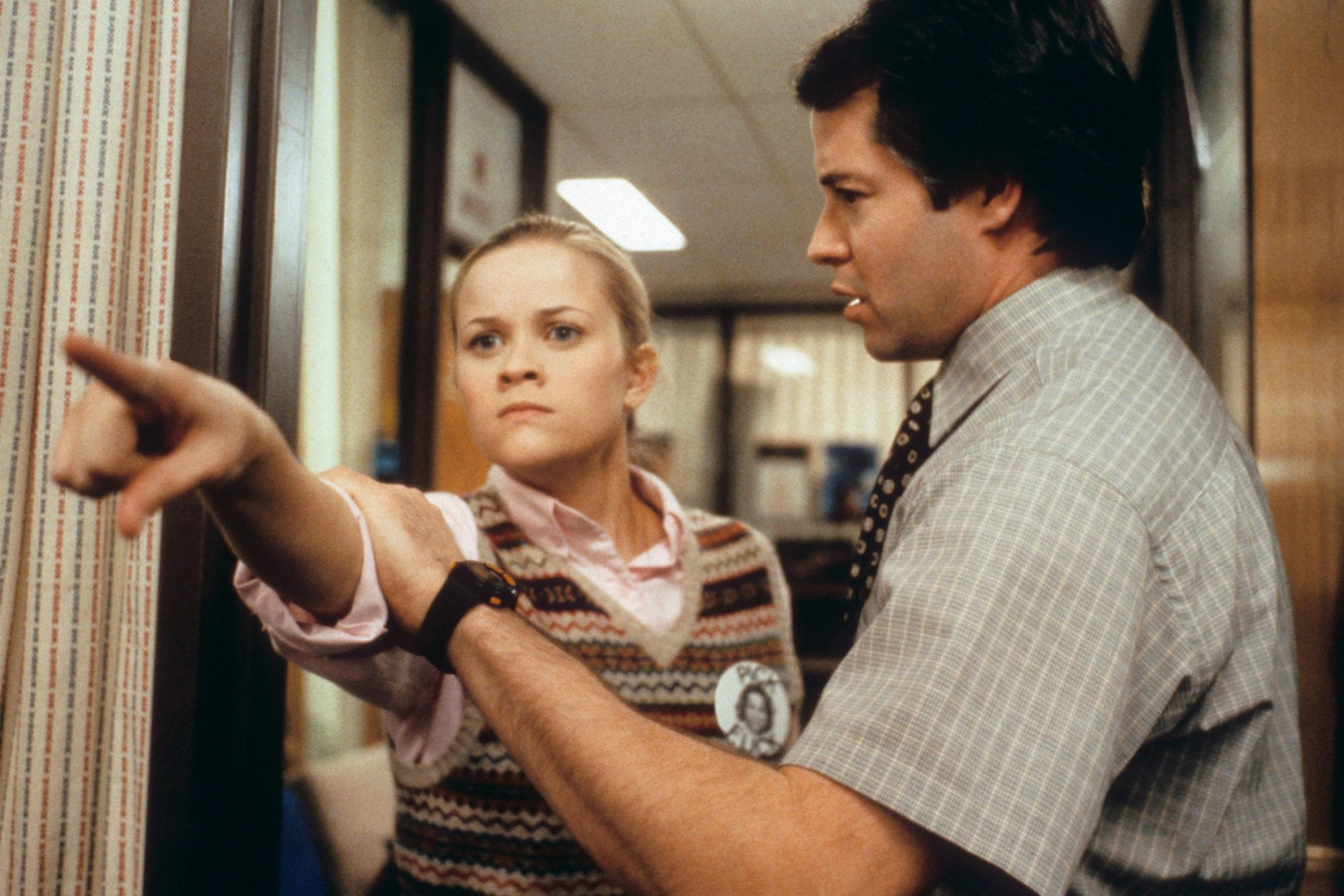 ELECTION, Reese Witherspoon, Matthew Broderick, 1999 CR: Everett Collection