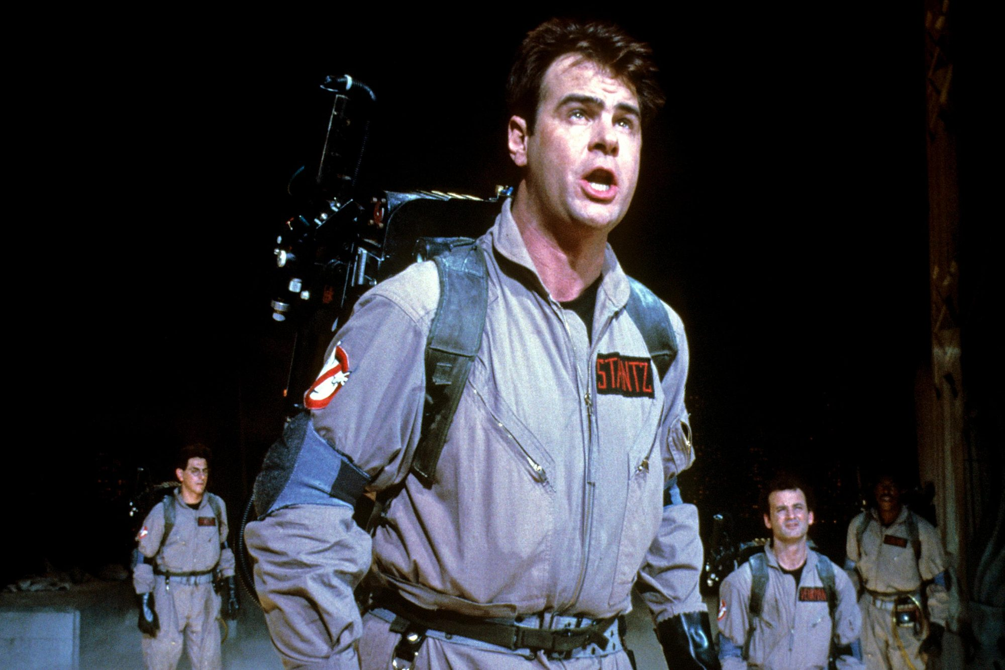 GHOSTBUSTERS, Harold Ramis, Dan Aykroyd, Bill Murray, 1984.