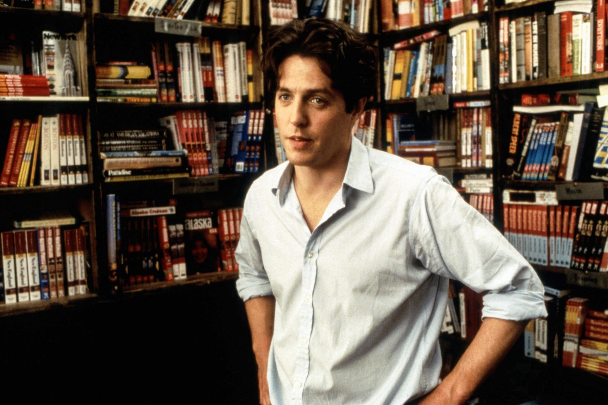 NOTTING HILL, Hugh Grant, 1999, (c) Universal/courtesy Everett Collection