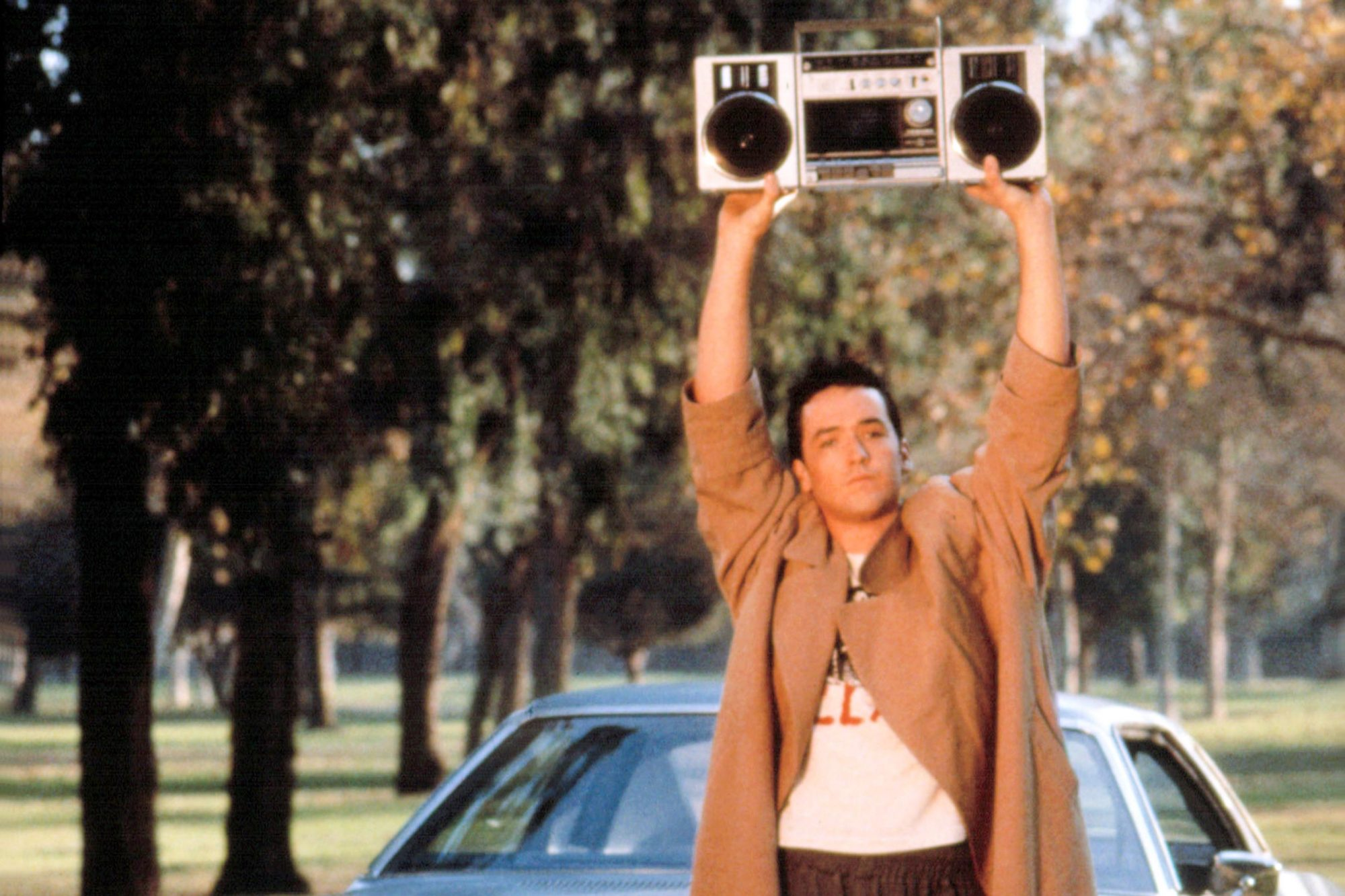 SAY ANYTHING, John Cusack, 1989. TM and Copyright (c) 20th Century Fox Film Corp. All rights reserve