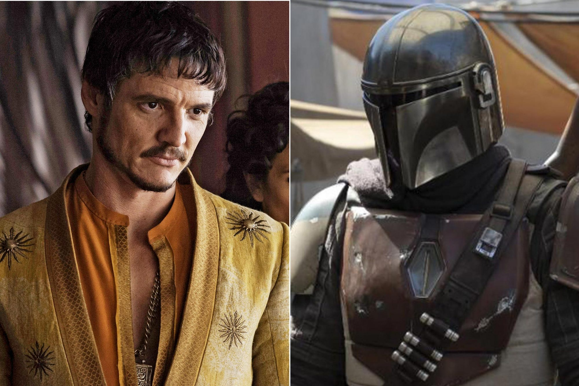 GAME OF THRONES (2014) Season 4 Air Date: 2014 Pictured: Pedro Pascal as Oberyn Martell Star Wars The Mandalorian first look CR: Lucasfilm