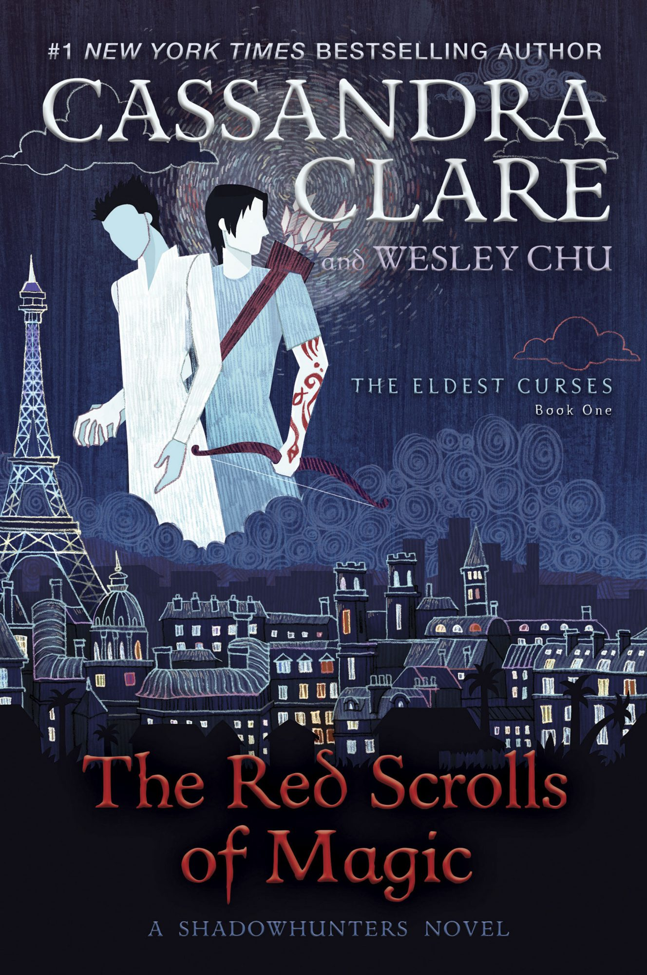 The Red Scrolls of Magic by Cassandra Clare and Wesley Chu CR: Simon & Schuster Children's Publishing
