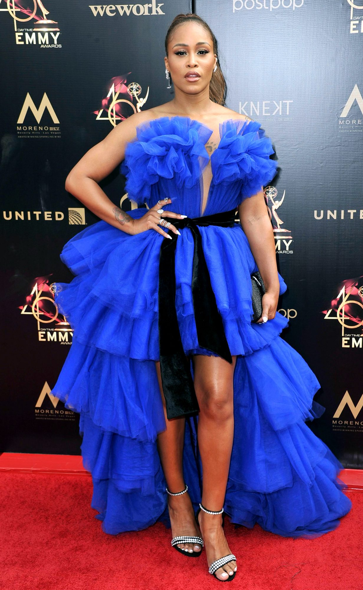 Eve arrives at the 46th annual Daytime Emmy Awards