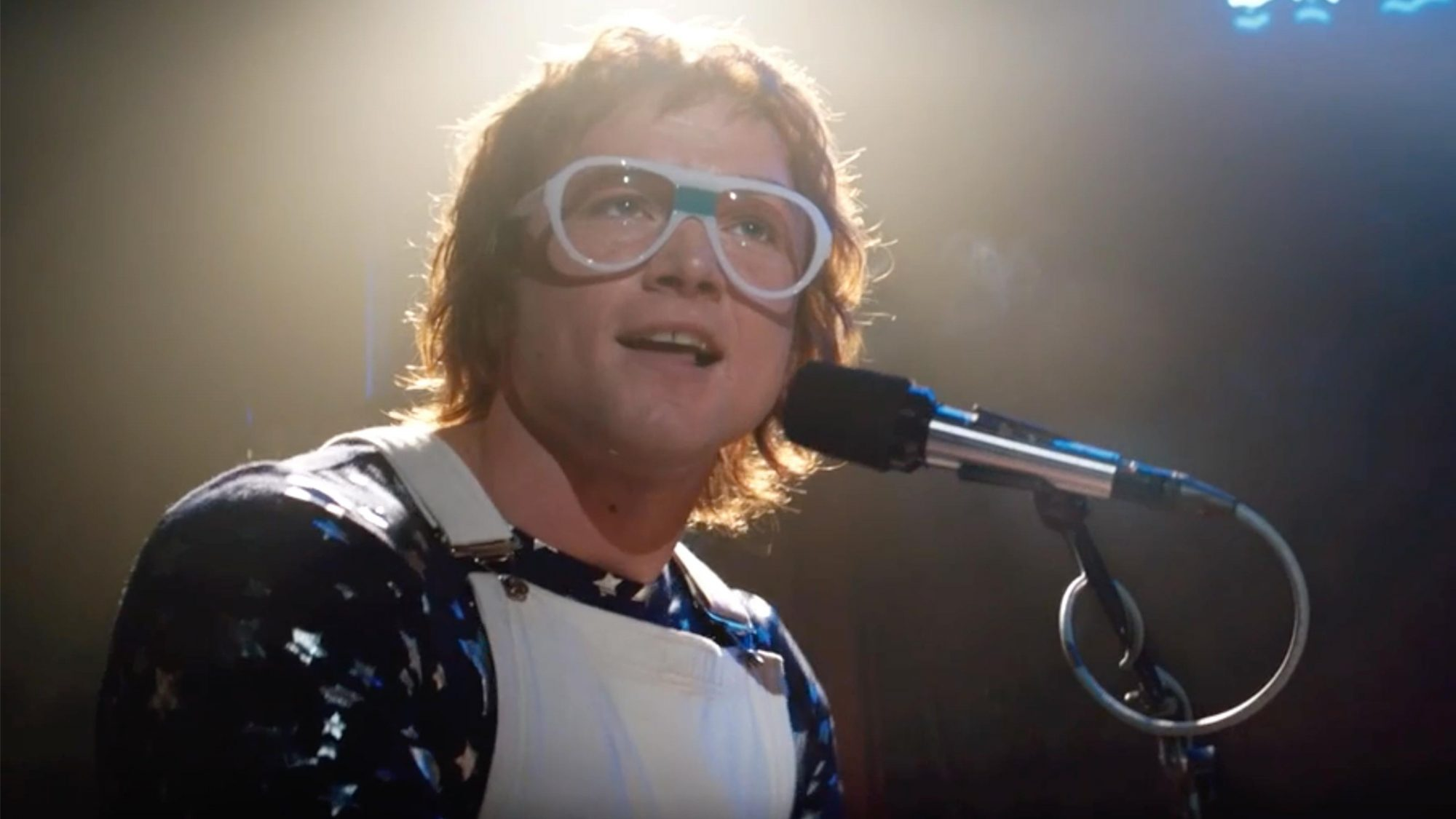 Taron Egerton as Elton John in Rocketman from Paramount Pictures. (screen grab)