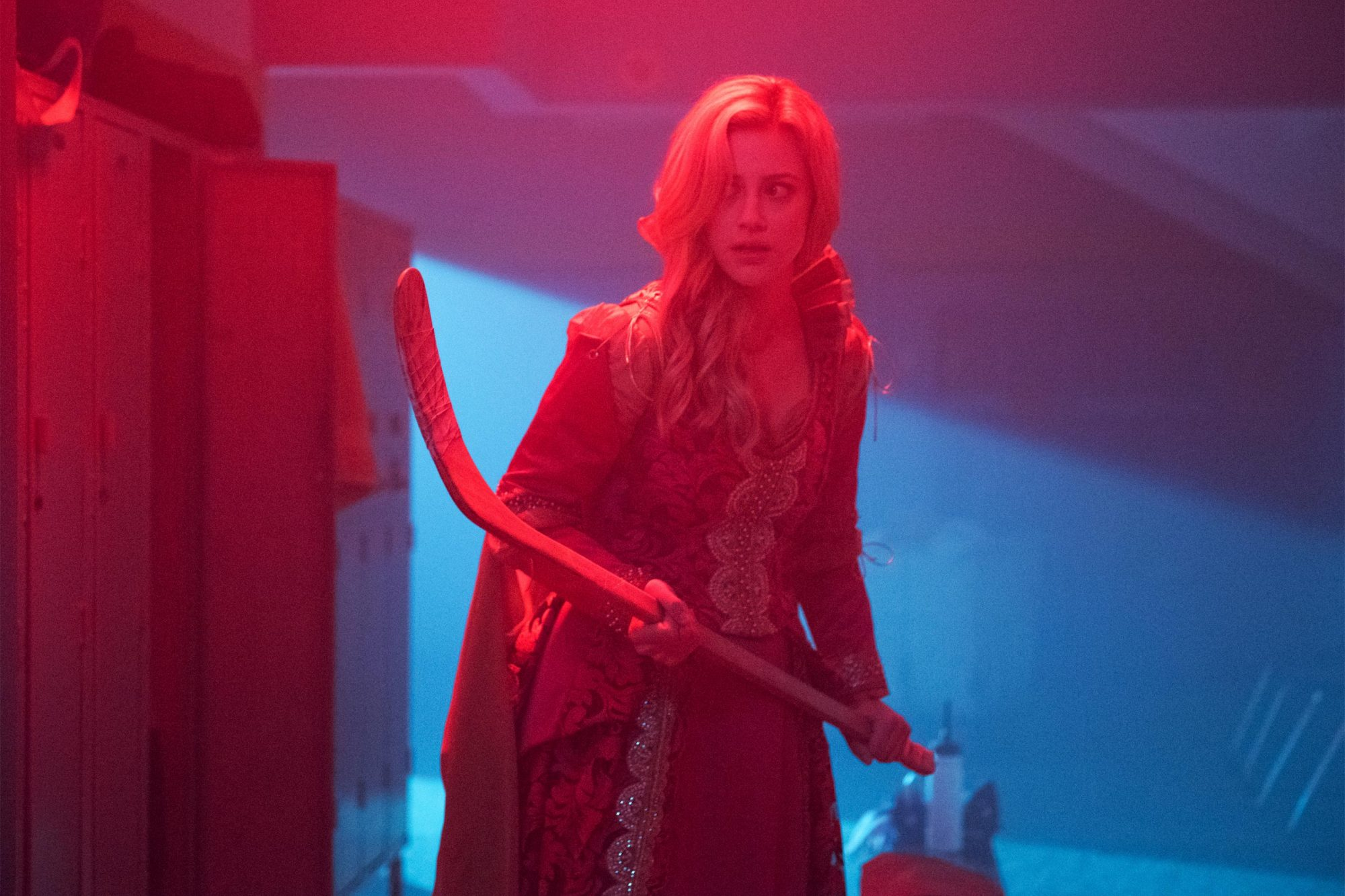 "Riverdale -- ""Chapter Fifty-Five: Prom Night"" -- Image Number: RVD320a_0097.jpg -- Pictured: Lili Reinhart as Betty -- Photo: Dean Buscher/The CW -- © 2019 The CW Network, LLC. All rights reserved."