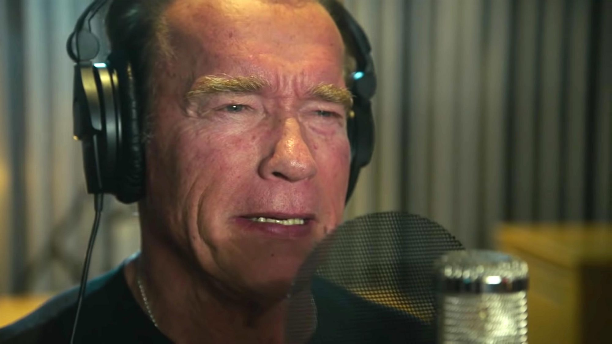 Andreas Gabalier feat. Arnold Schwarzenegger - Pump it Up - The Motivation Song (screen grab) https://www.youtube.com/watch?v=Z7i8NgOPOK8 Andreas Gabalier/YouTube