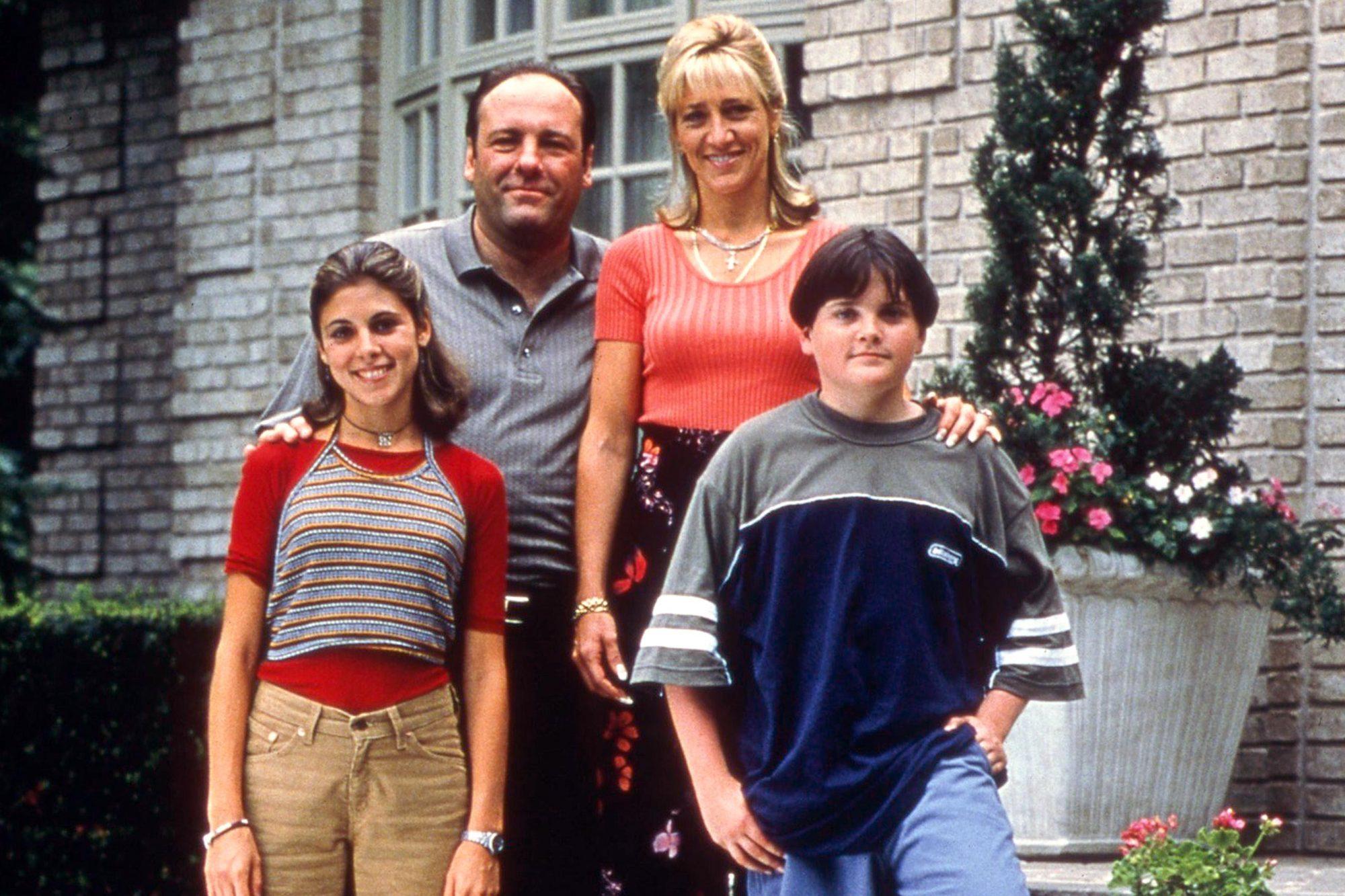 The SopranosJaime Lynn Sigler, James Gandolfini, Edie Falco, Robert Iler