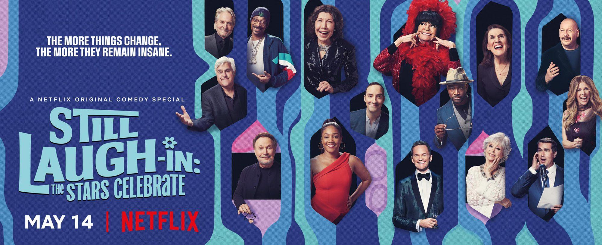 Still LAUGH-IN key art CR: Netflix