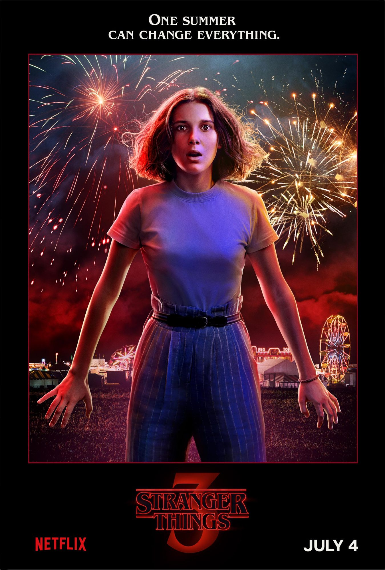 Stranger Things 3Character posterCR: Netflix