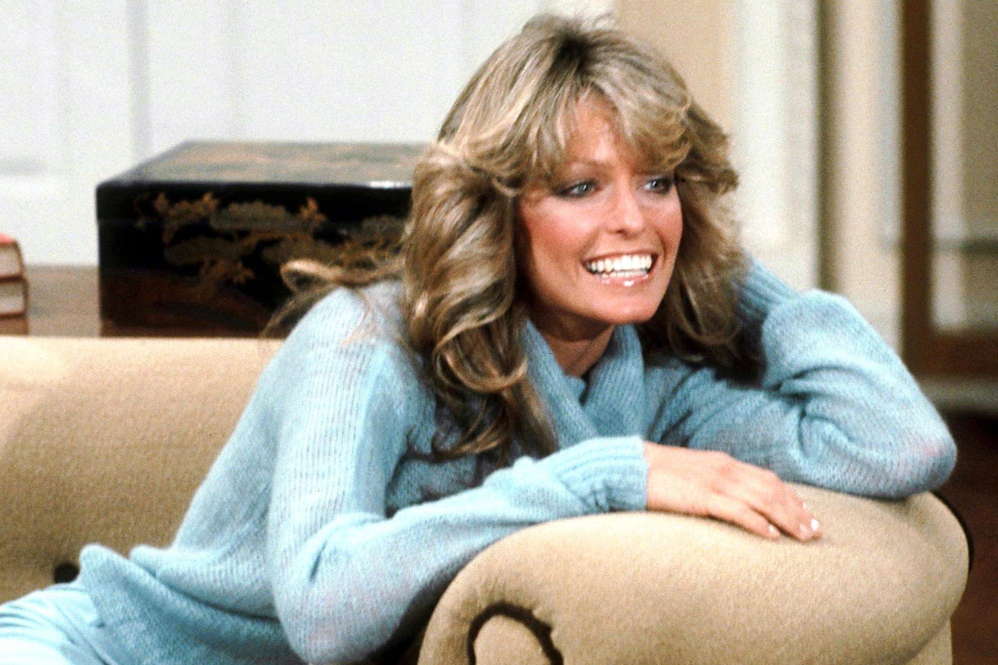 CHARLIE'S ANGELS, Farrah Fawcett, 1976-1981.