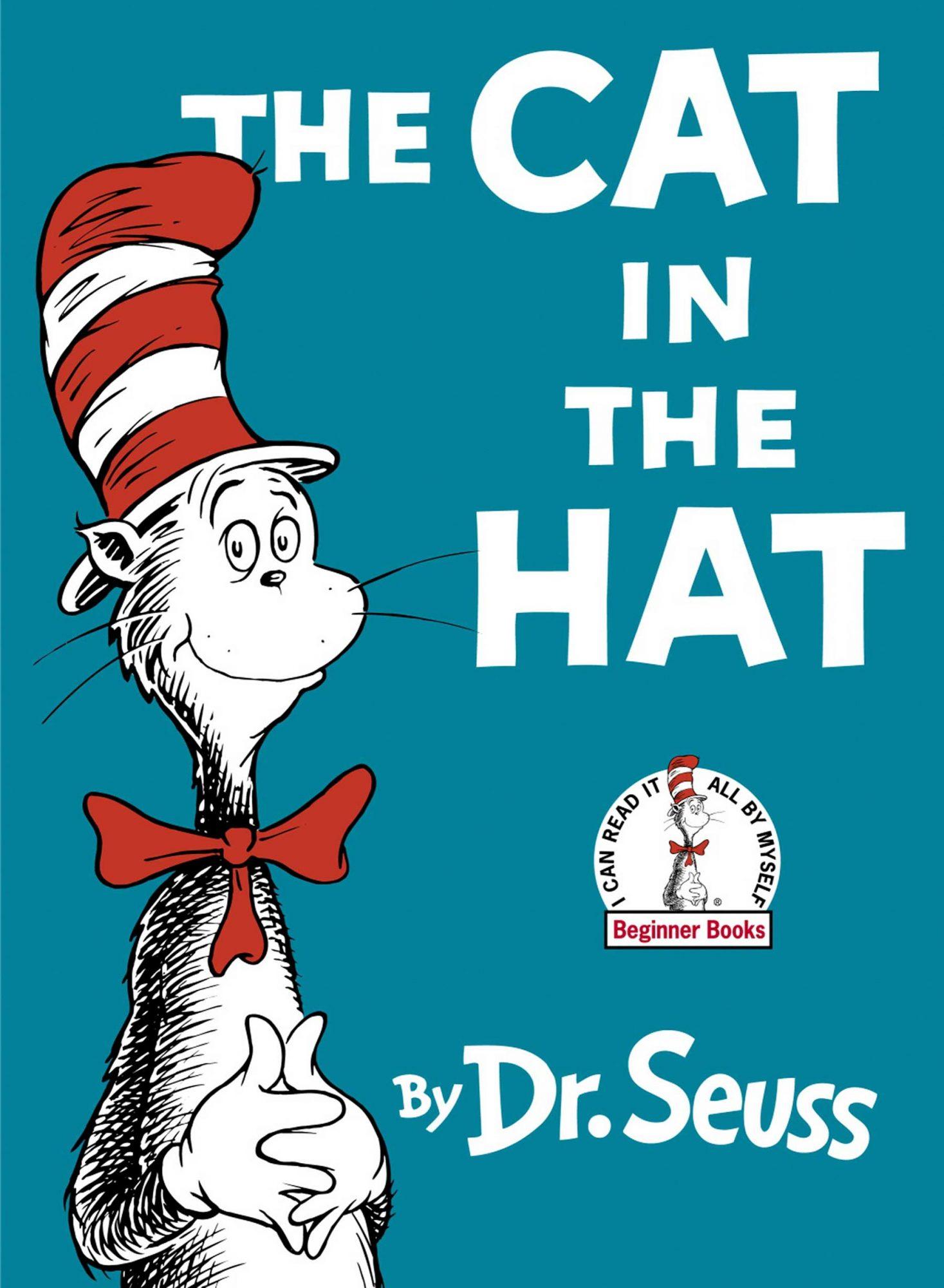 The Cat in the Hat Dr. Seuss Bookcover CR: Random House Children's Books