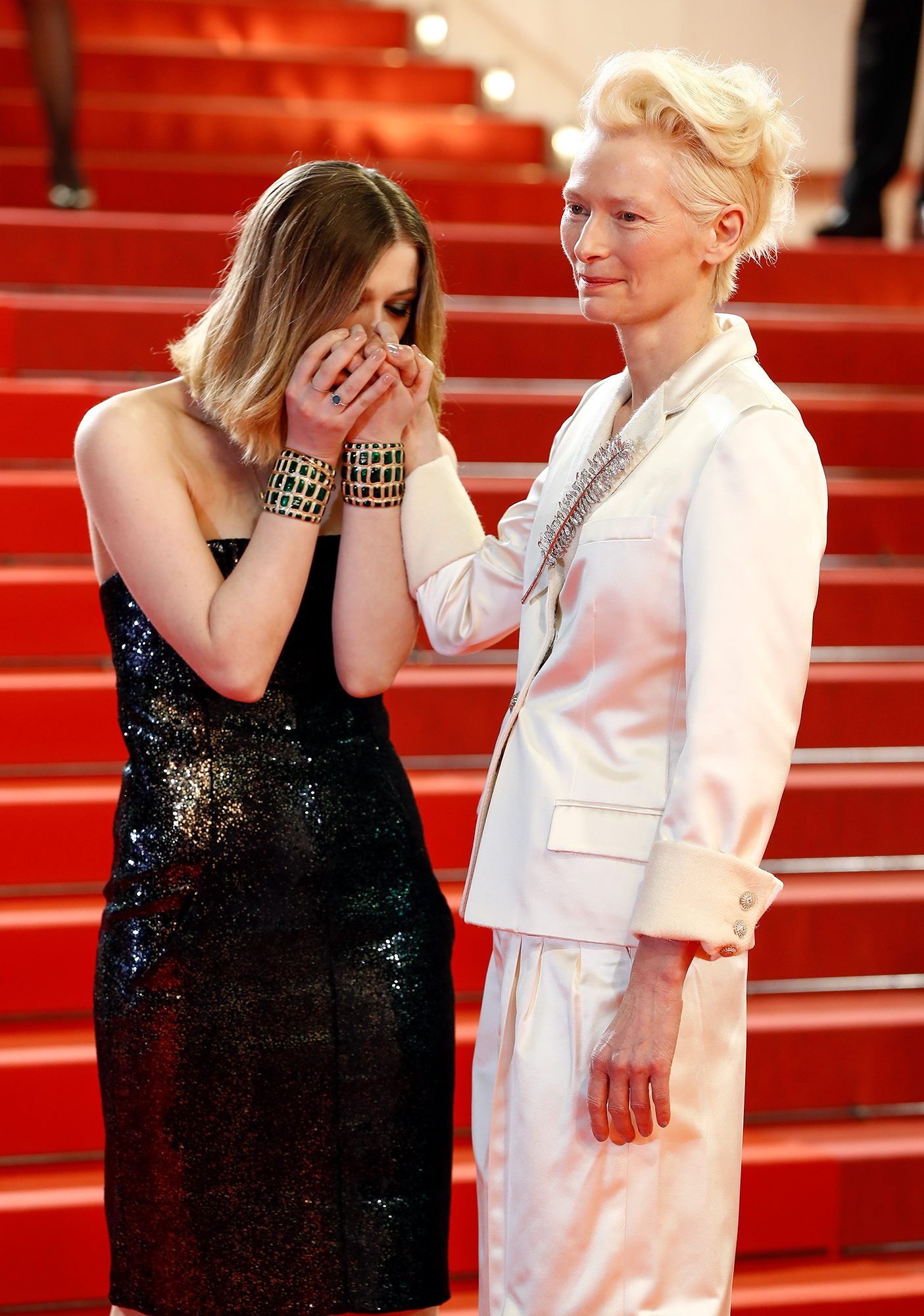 """""""Parasite"""" Red Carpet - The 72nd Annual Cannes Film Festival"""