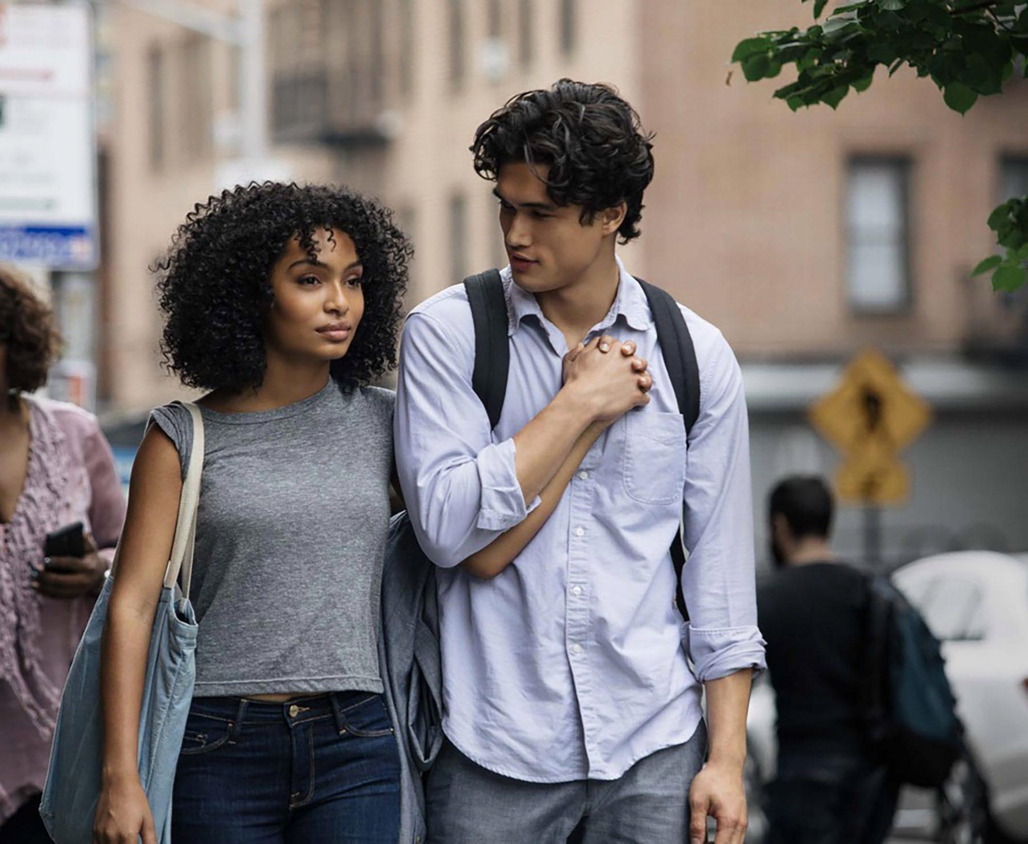 Yara Shahidi and Charles Melton