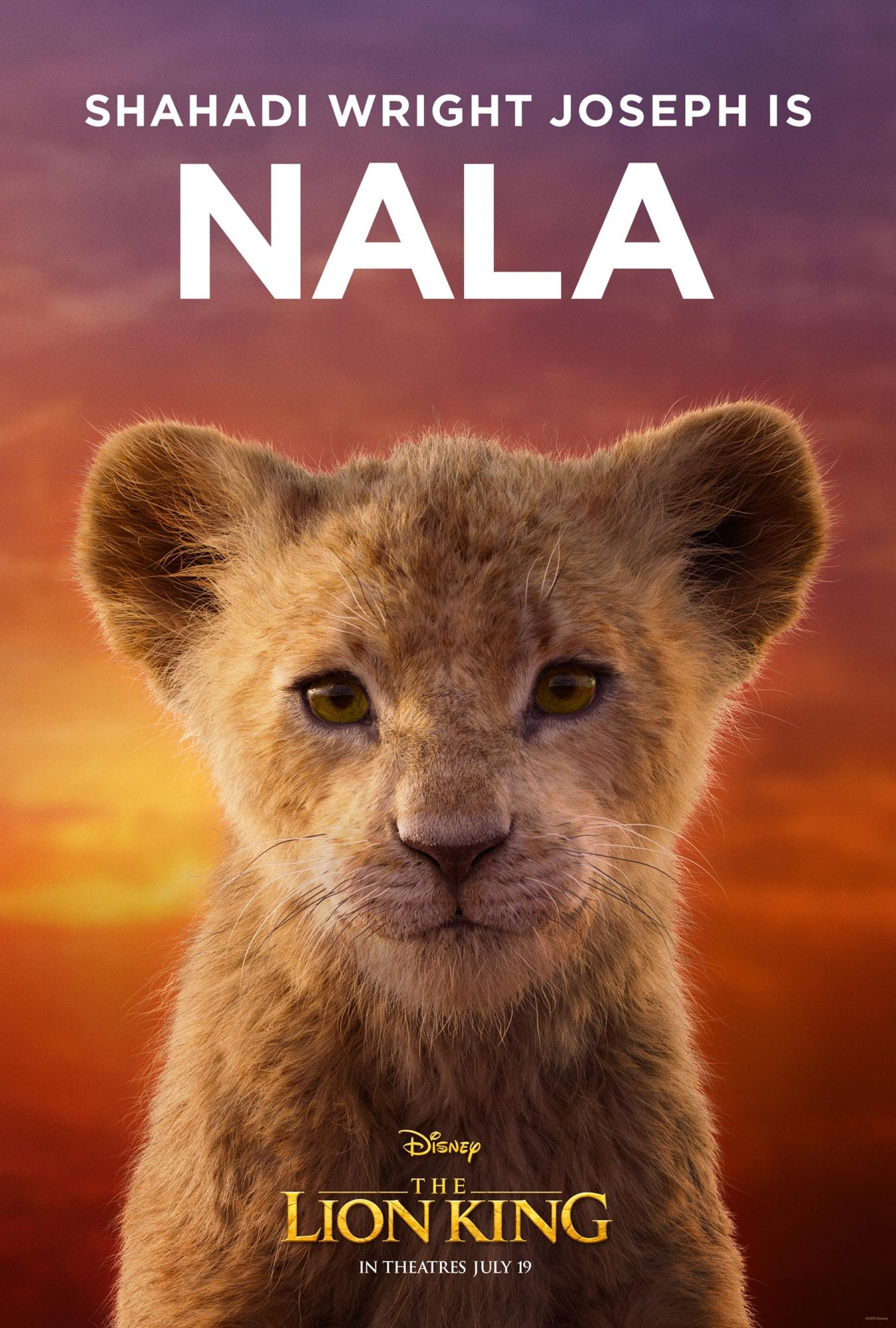 Lion King Character posters