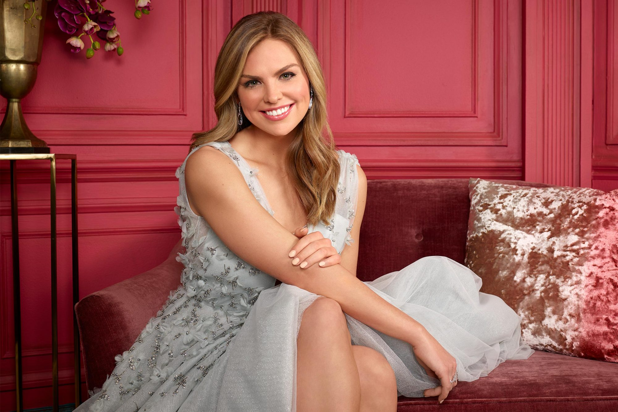 """THE BACHELORETTE - Hannah Brown caught the eye of Colton Underwood early on during the 23rd season of """"The Bachelor,"""" showing him, and all of America, what Alabama Hannah is made of - a fun country girl who is unapologetically herself. After being sent home unexpectedly, Hannah took the time to reflect on her breakup, gaining a powerful understanding of her desire to be deeply and fiercely loved. Now, with a newfound sense of self and a little southern charm, she is more ready than ever to find her true love on the milestone 15th season of """"The Bachelorette."""" (ABC/Ed Herrera) HANNAH BROWN"""