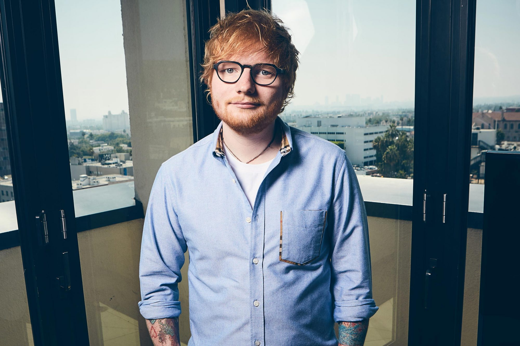 Ed Sheeran Apple Music Publicity photo CR: Koury Angelo