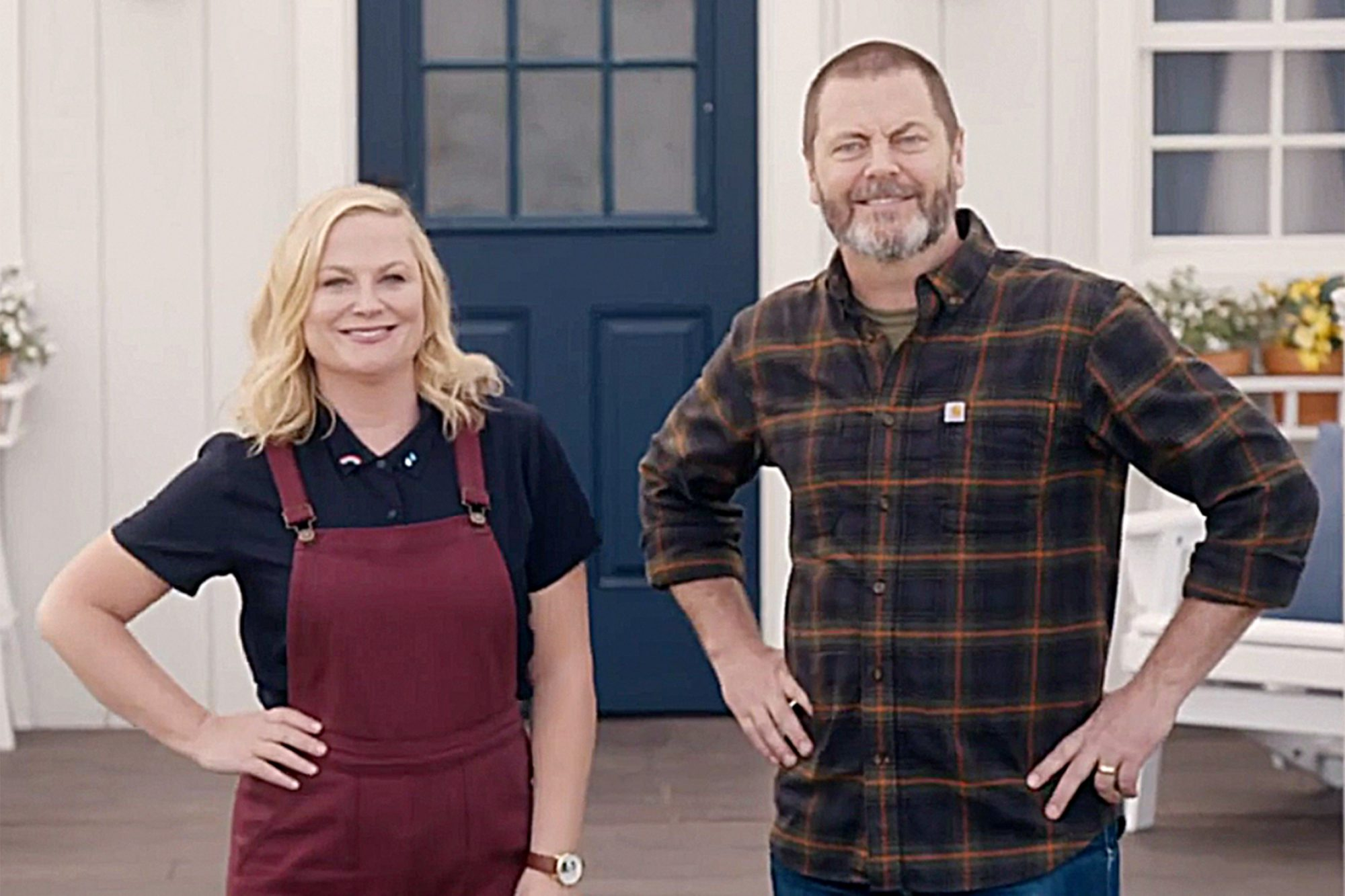 MAKING IT- Nick Offerman and Amy Poehler