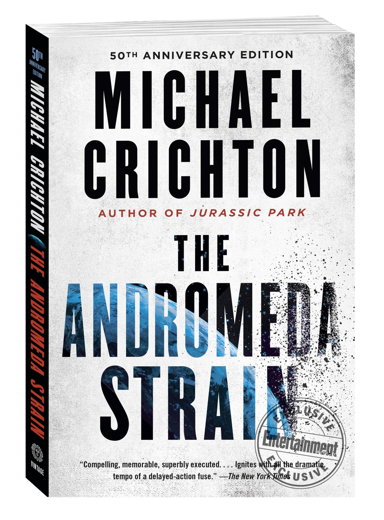 The Andromeda Strain 50th anniversary edition by Michael Crichton