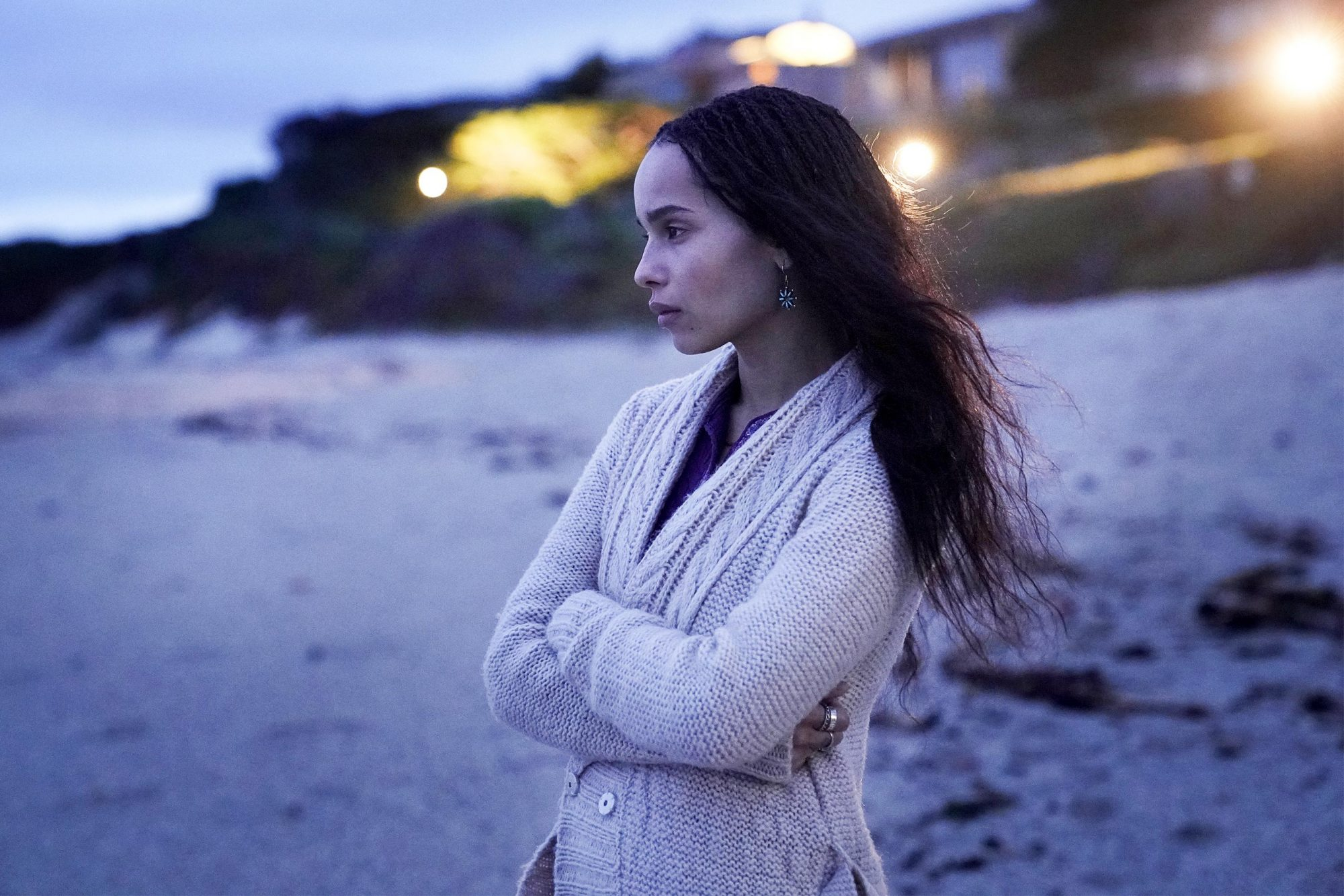 Big Little Lies Season 2, episode 3, debut 6/23/19: Zoë Kravitz. photo: Jennifer Clasen/HBO