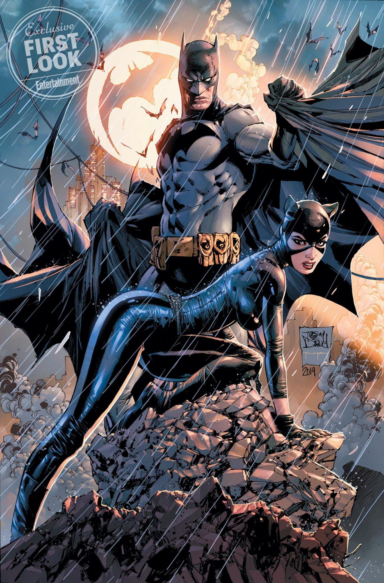 Batman #78 comic cover Batman and Catwoman Credit: Tony S. Daniel/DC Comics
