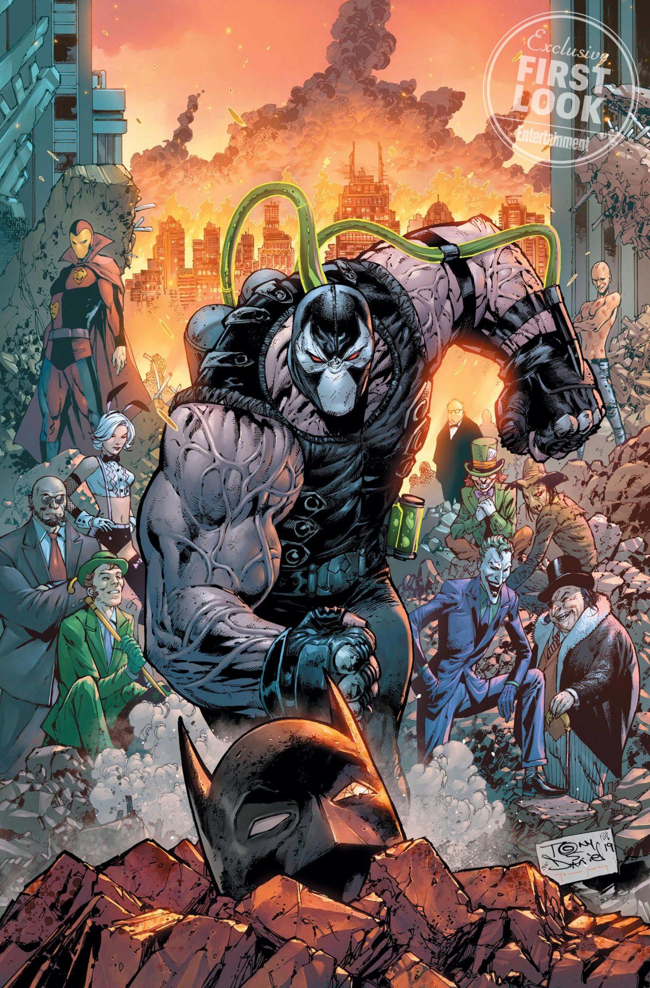 Batman #75 comic cover Bane Credit: Tony S. Daniel/DC Comics