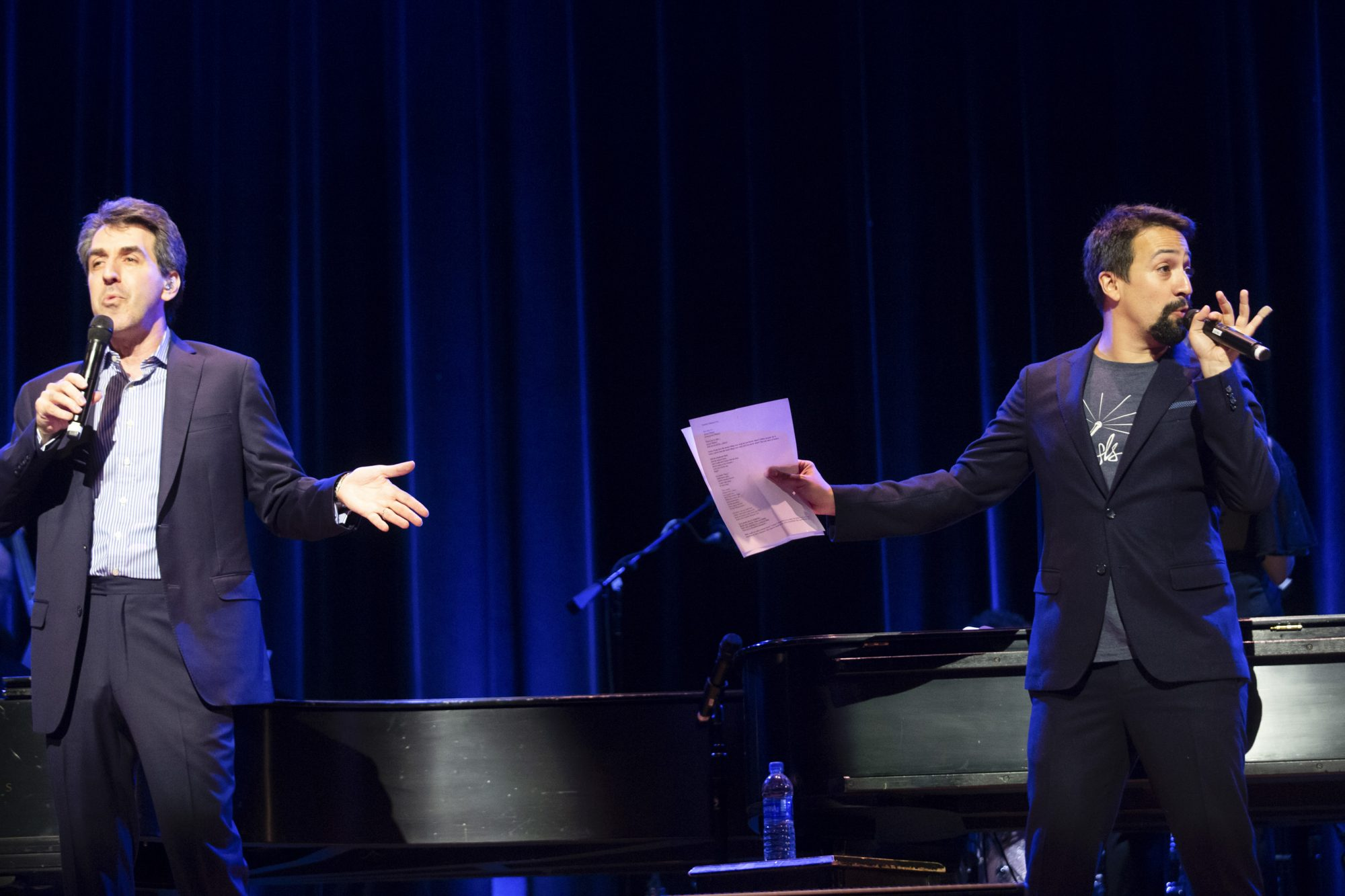 Jason Robert Brown and Stephen Sondheim performance