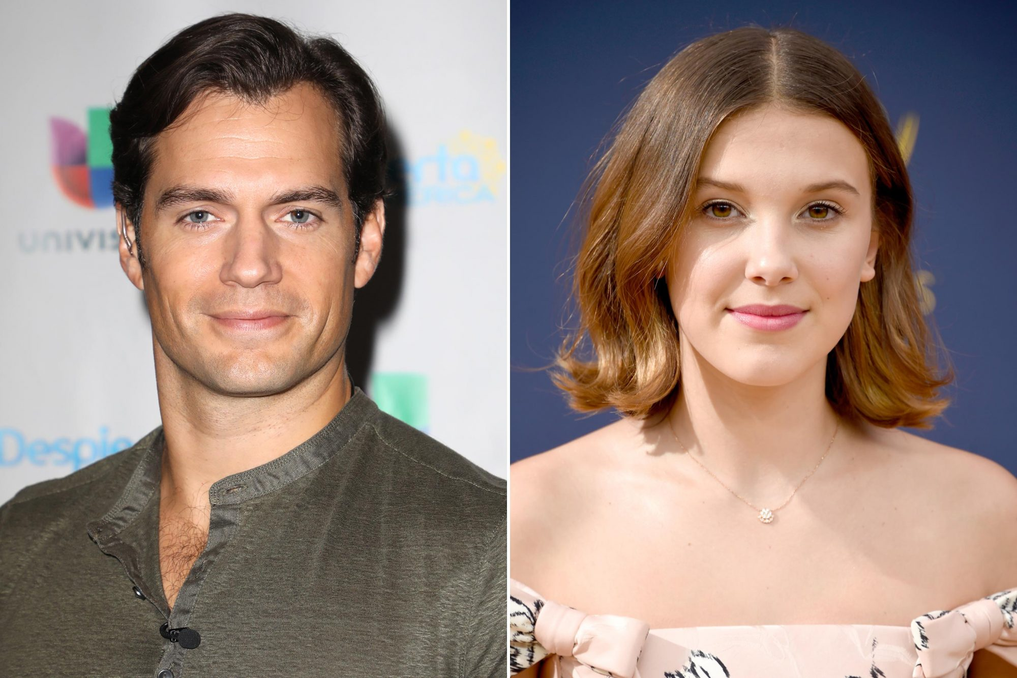 Henry Cavill; Millie Bobby Brown