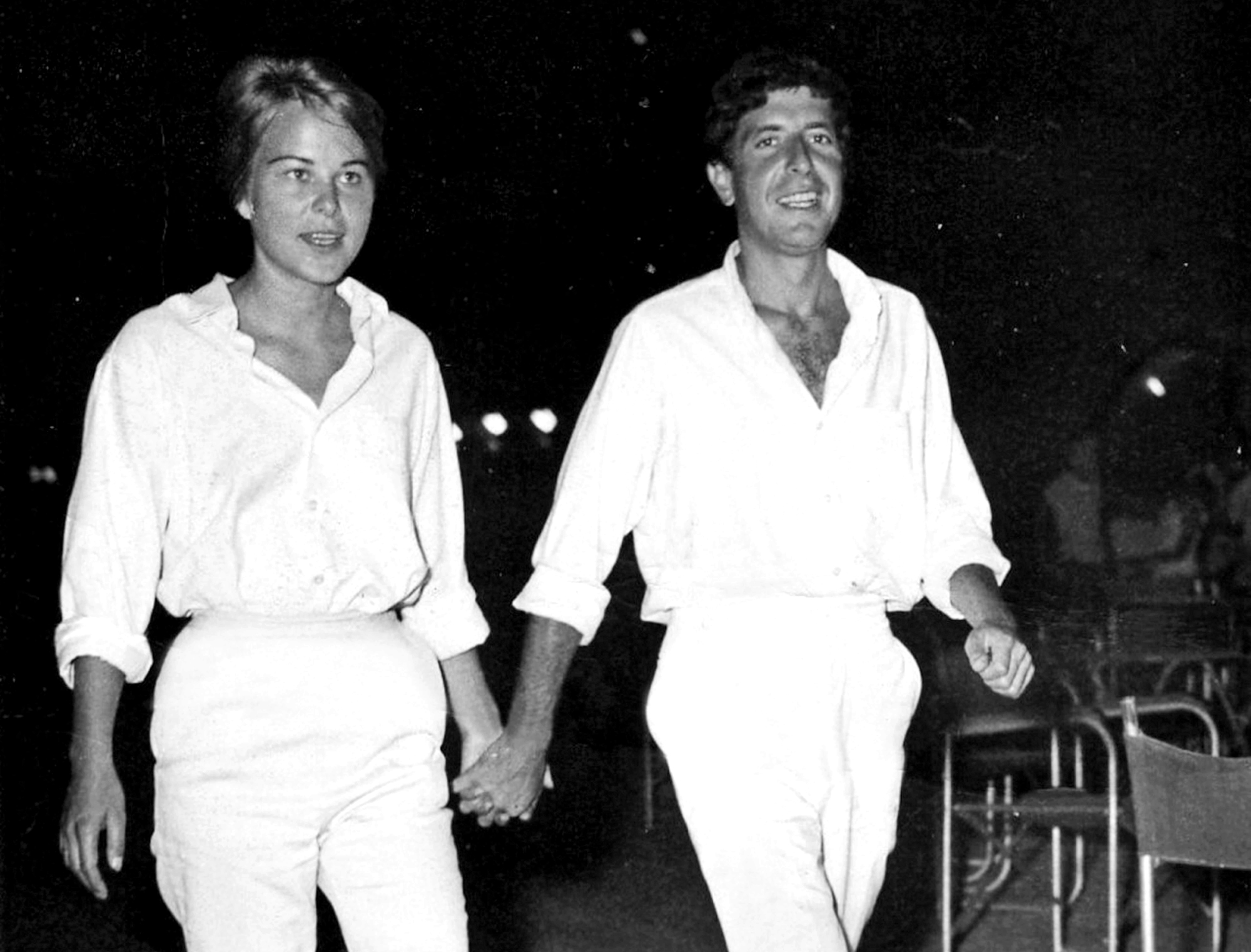 Marianne Ihlen and Leonard Cohen