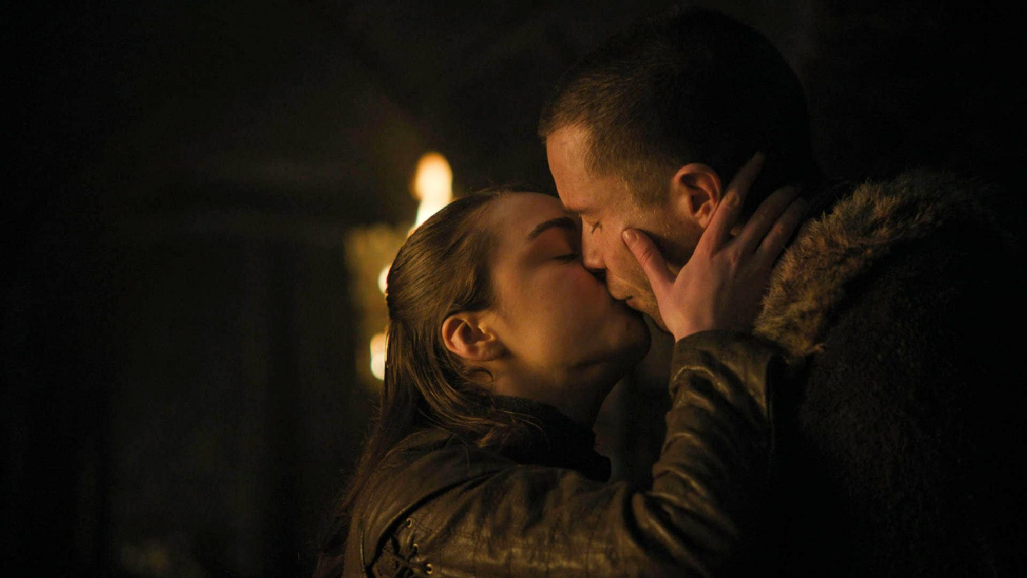 Arya and Gendry hook up, Game of Thrones