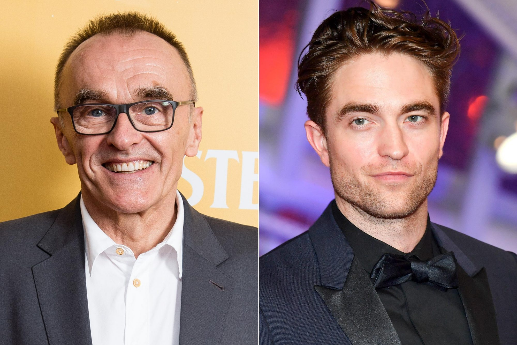 GORLESTON-ON-SEA, ENGLAND - JUNE 21: Director Danny Boyle attends special screening of Yesterday on June 21, 2019 in Gorleston-on-Sea, England. (Photo by Jeff Spicer/Getty Images for Universal Pictures International) MARRAKECH, MOROCCO - NOVEMBER 30: Actor Robert Pattinson attends the Opening Ceremony of the 17th Marrakech International Film Festival on November 30, 2018 in Marrakech, Morocco. (Photo by Stephane Cardinale - Corbis/Corbis via Getty Images)