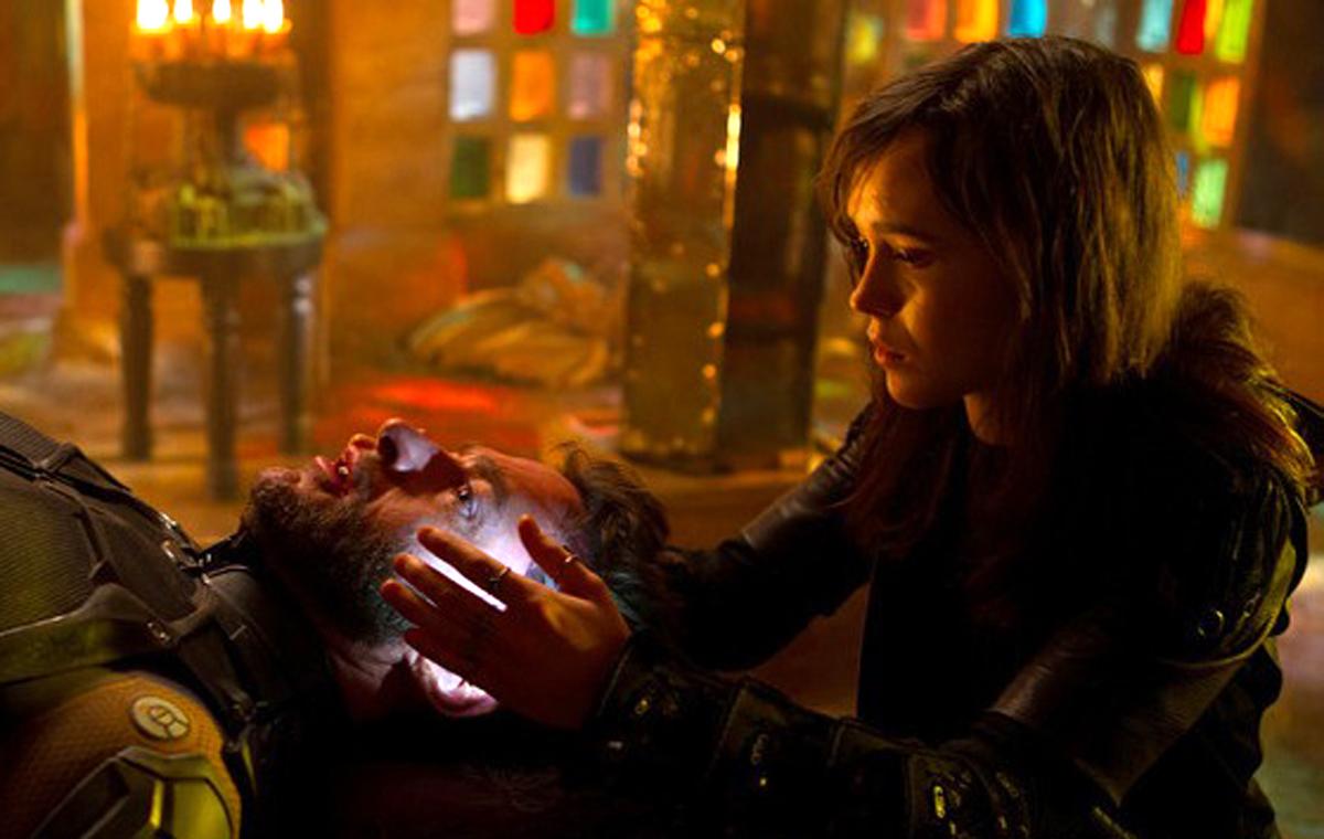 X-Men: Days of Future Past (2014)Hugh Jackman and Ellen Page