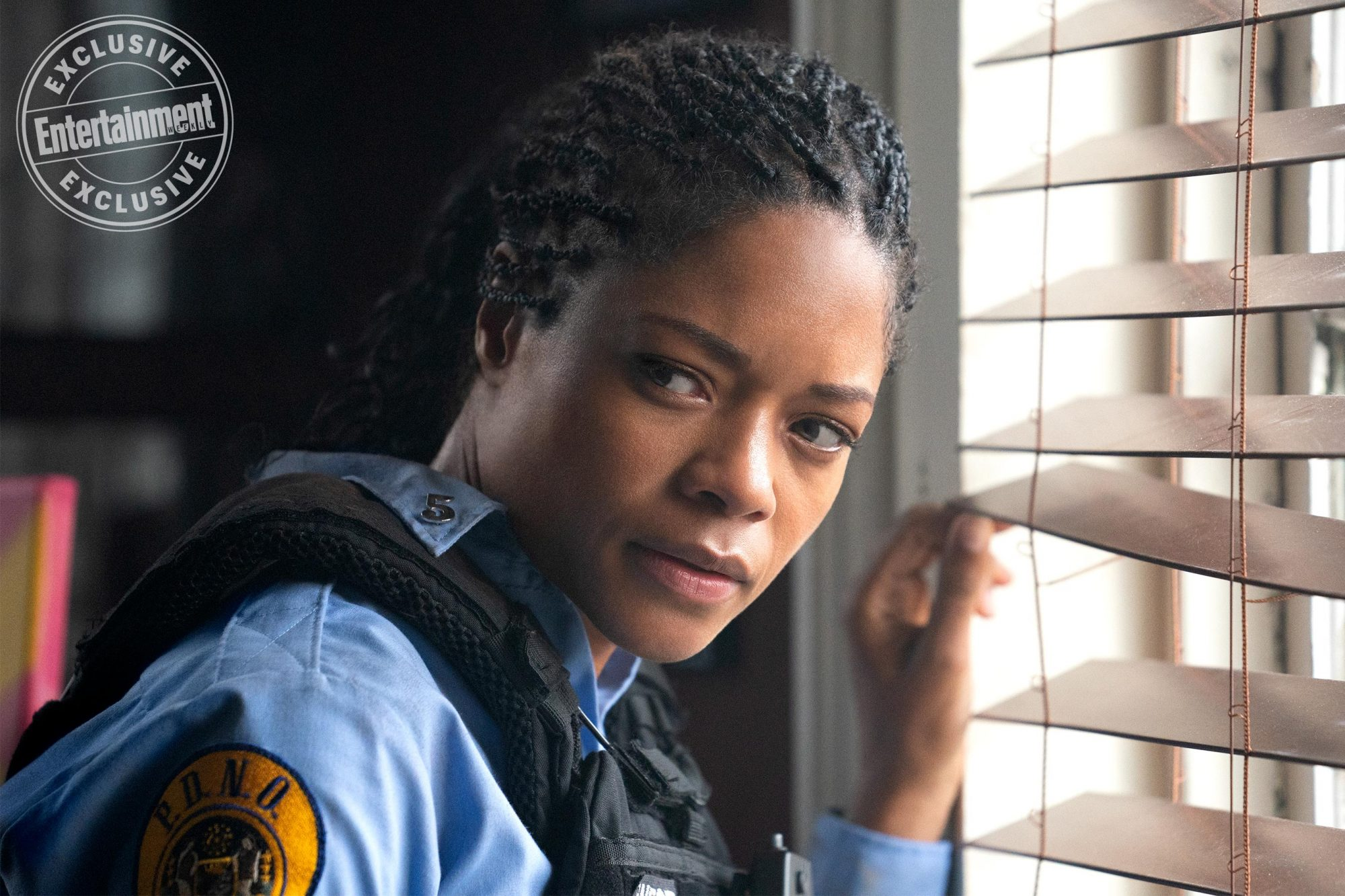 Naomi Harris stars in BLACK and BLUE. CR: Alan Markfield/Screen Gems