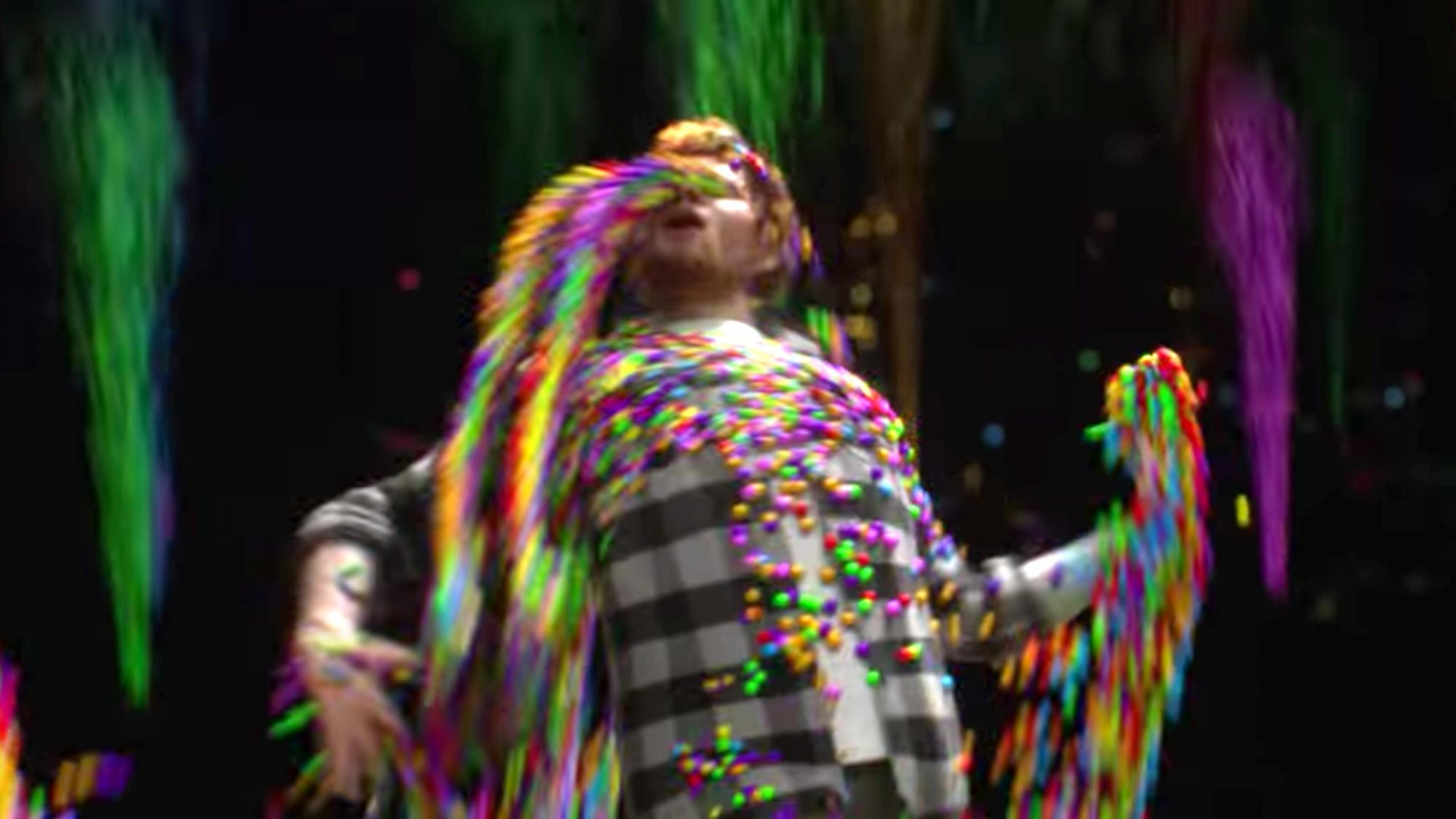 Ed Sheeran - Cross Me (feat. Chance The Rapper & PnB Rock) [Official Video] (screen grab) https://www.youtube.com/watch?v=S5n9emOr7SQ CR: Ed Sheeran/YouTube