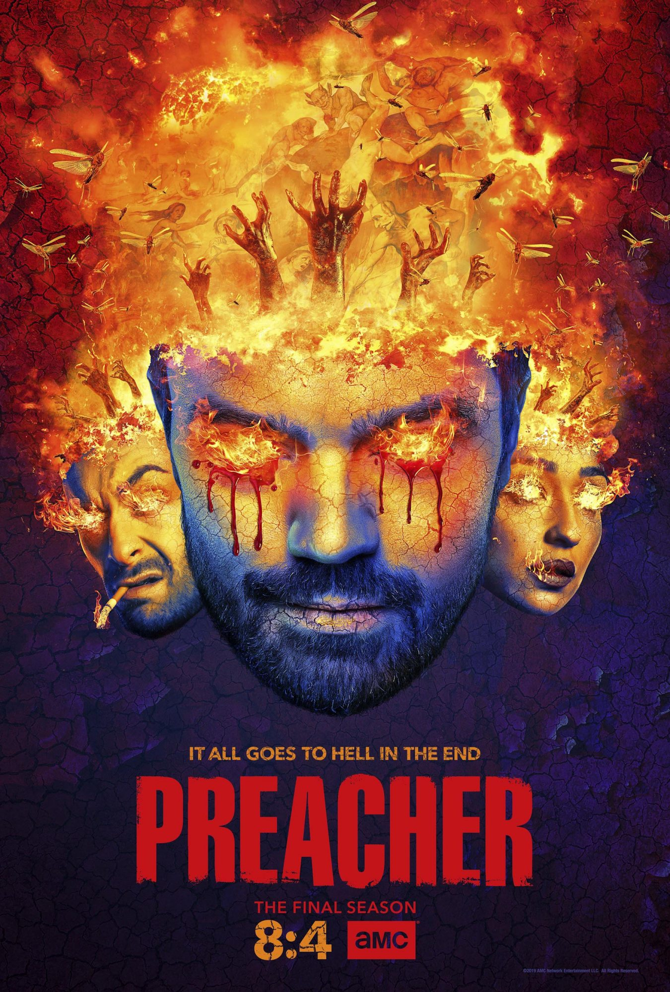 The Preacher Season 4 key art CR: AMC