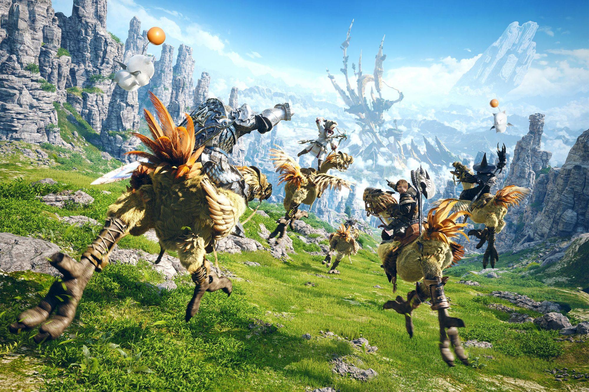 Final Fantasy XIV: A Realm Reborn key art CR: Square Enix
