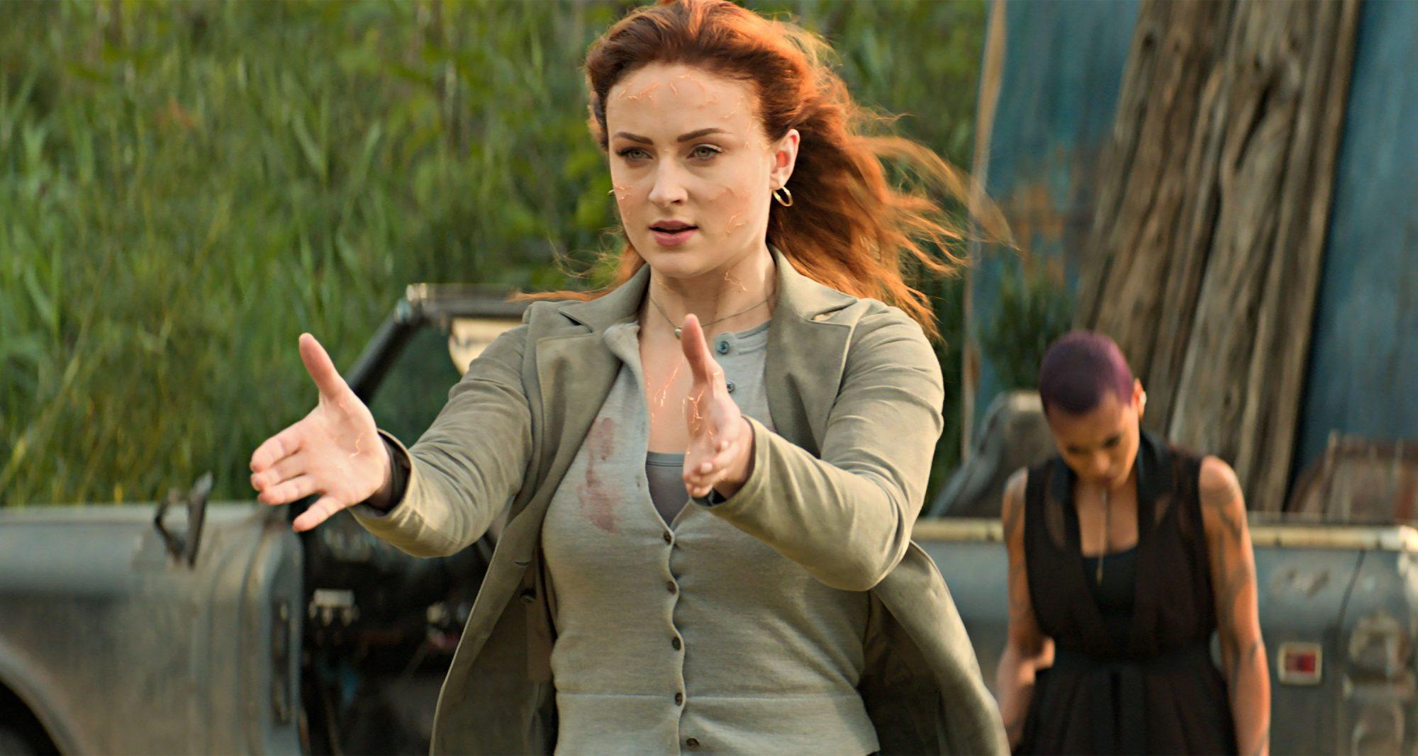 DARK PHOENIX Sophie Turner as Jean Grey