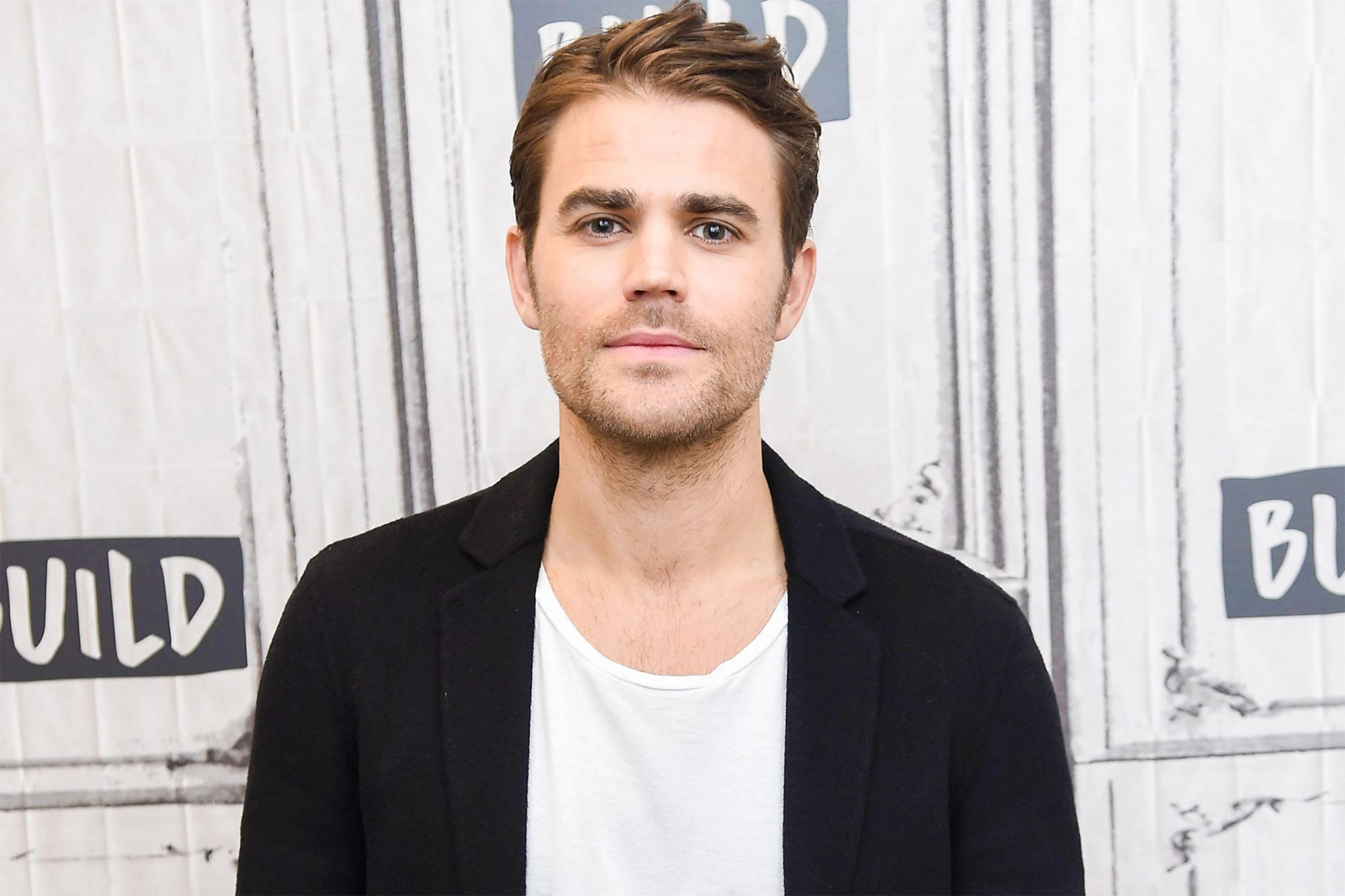 """NEW YORK, NY - OCTOBER 26: Actor Paul Wesley visits Build Series to discuss the CBS All Access show """"Tell Me a Story' at Build Studio on October 26, 2018 in New York City. (Photo by Gary Gershoff/Getty Images)"""