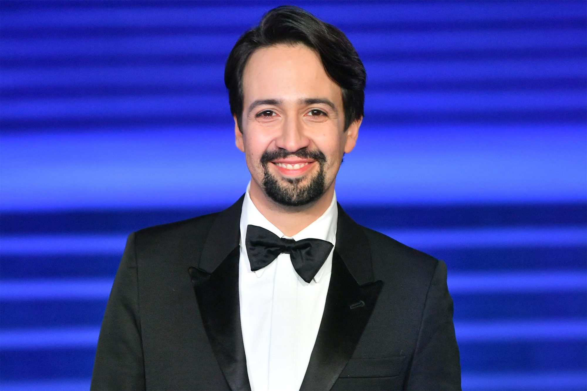 "LONDON, ENGLAND - DECEMBER 12: Lin-Manuel Miranda attends the European Premiere of ""Mary Poppins Returns"" at Royal Albert Hall on December 12, 2018 in London, England. (Photo by Samir Hussein/Samir Hussein/WireImage)"