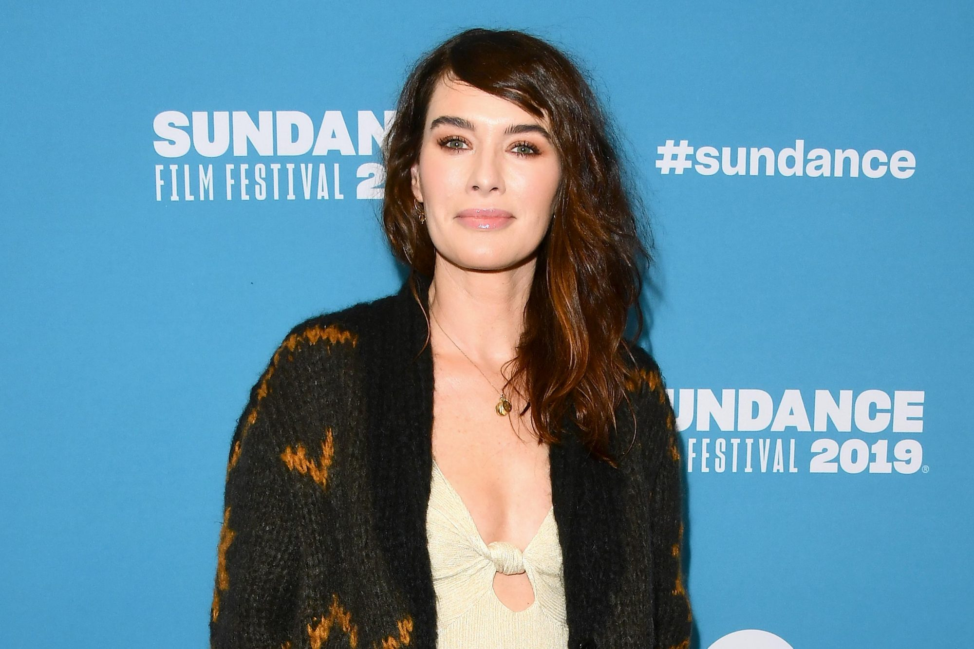 """PARK CITY, UT - JANUARY 28: Lena Headey attends the surprise screening of """"Fighting With My Family"""" during the 2019 Sundance Film Festival at The Ray on January 28, 2019 in Park City, Utah. (Photo by George Pimentel/Getty Images)"""
