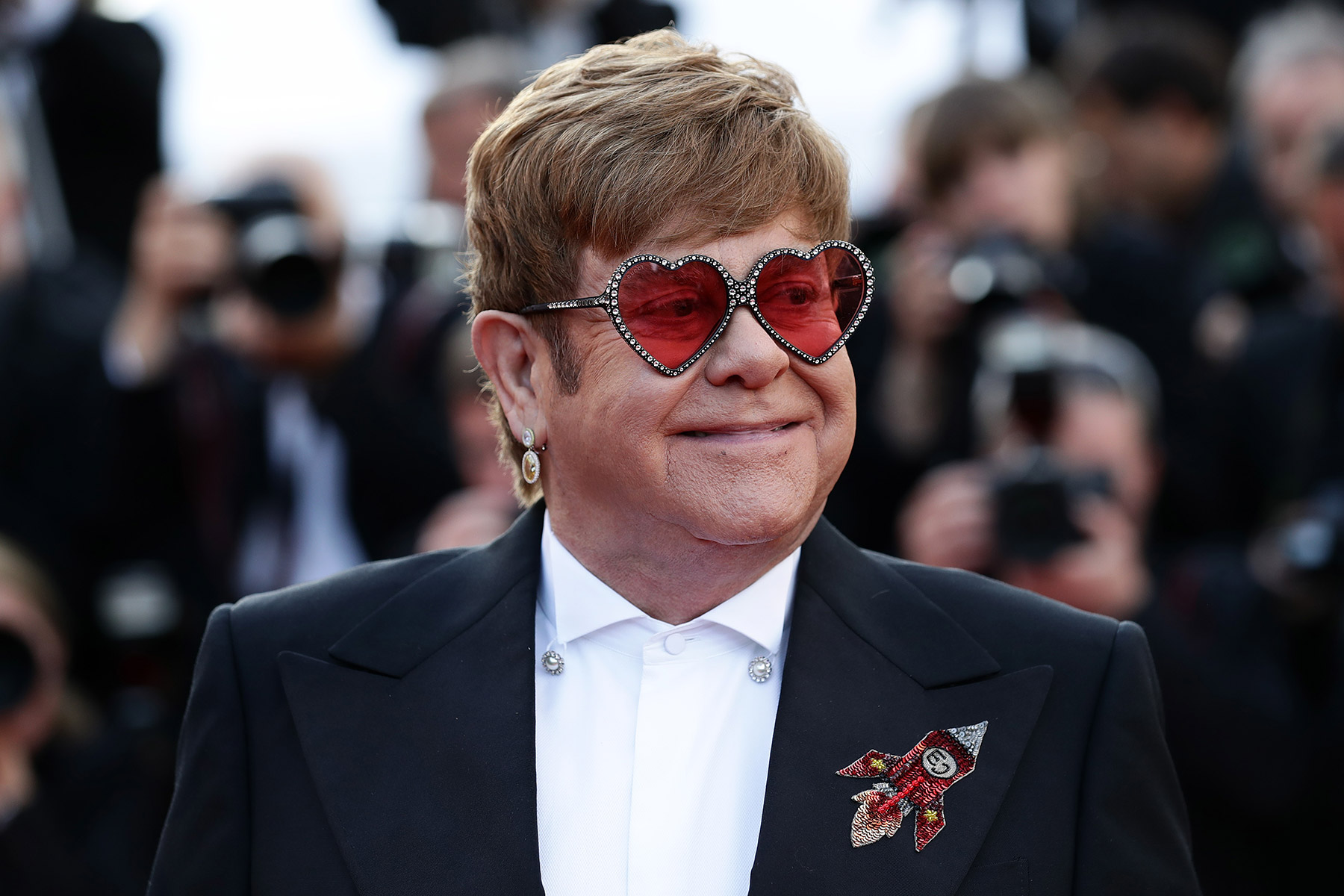 """""""Rocketman"""" Red Carpet At The 72nd Annual Cannes Film Festival"""