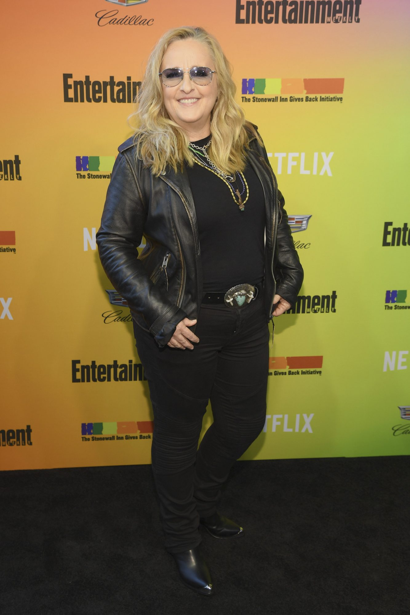 NEW YORK, NEW YORK - JUNE 05: Melissa Etheridge attends as Entertainment Weekly Celebrates Its Annual LGBTQ Issue at the Stonewall Inn on June 05, 2019 in New York City. (Photo by Dimitrios Kambouris/Getty Images for Entertainment Weekly)