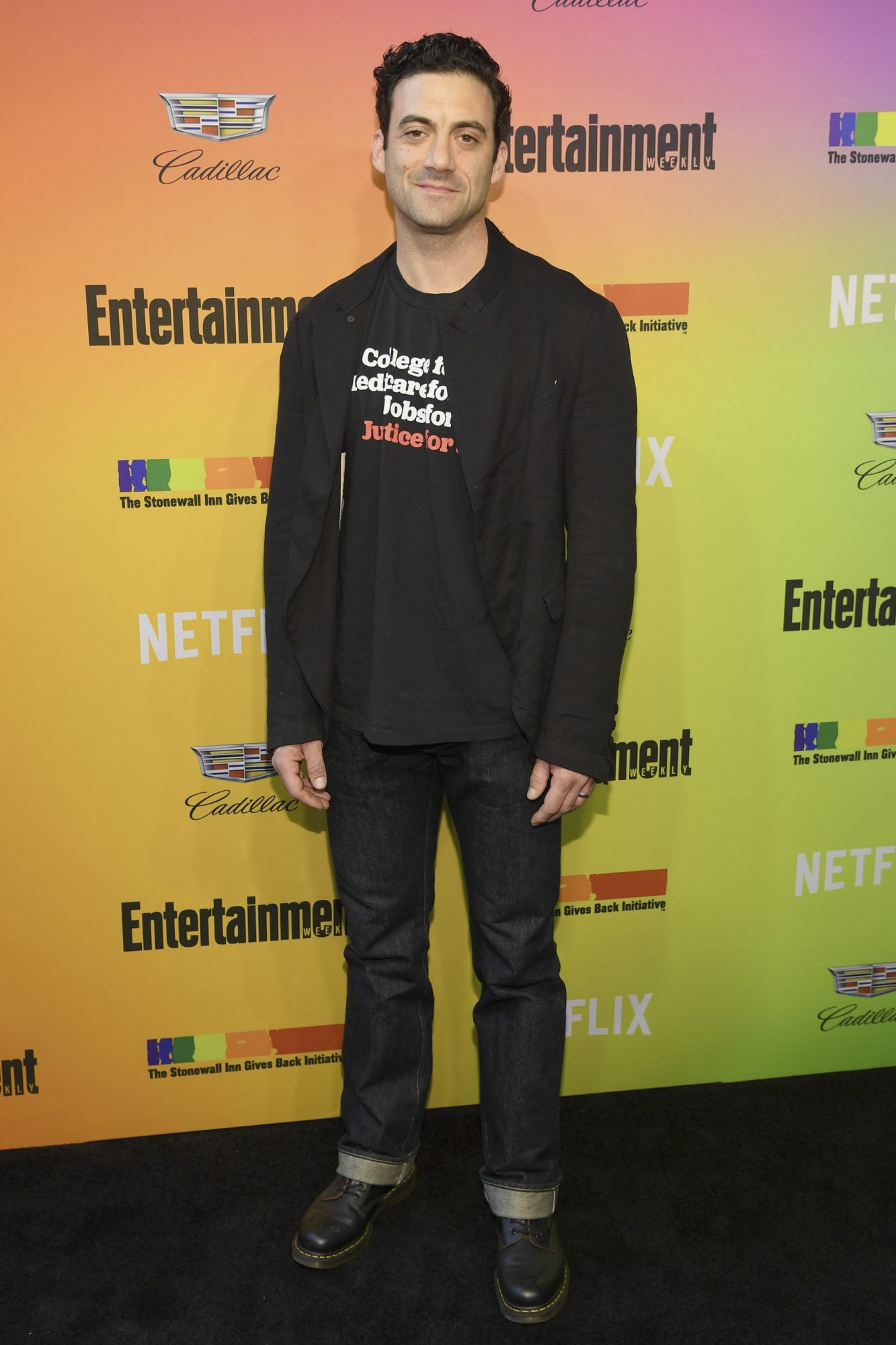 NEW YORK, NEW YORK - JUNE 05: Morgan Spector attends as Entertainment Weekly Celebrates Its Annual LGBTQ Issue at the Stonewall Inn on June 05, 2019 in New York City. (Photo by Dimitrios Kambouris/Getty Images for Entertainment Weekly)