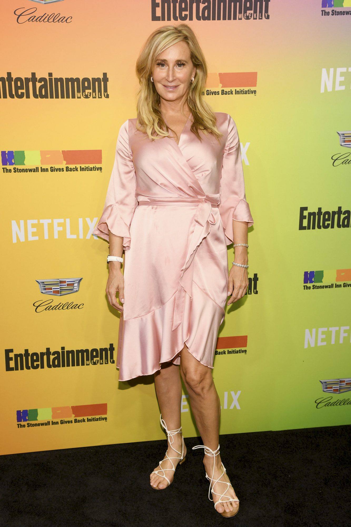 NEW YORK, NEW YORK - JUNE 05: Sonja Morgan attends as Entertainment Weekly Celebrates Its Annual LGBTQ Issue at the Stonewall Inn on June 05, 2019 in New York City. (Photo by Dimitrios Kambouris/Getty Images for Entertainment Weekly)