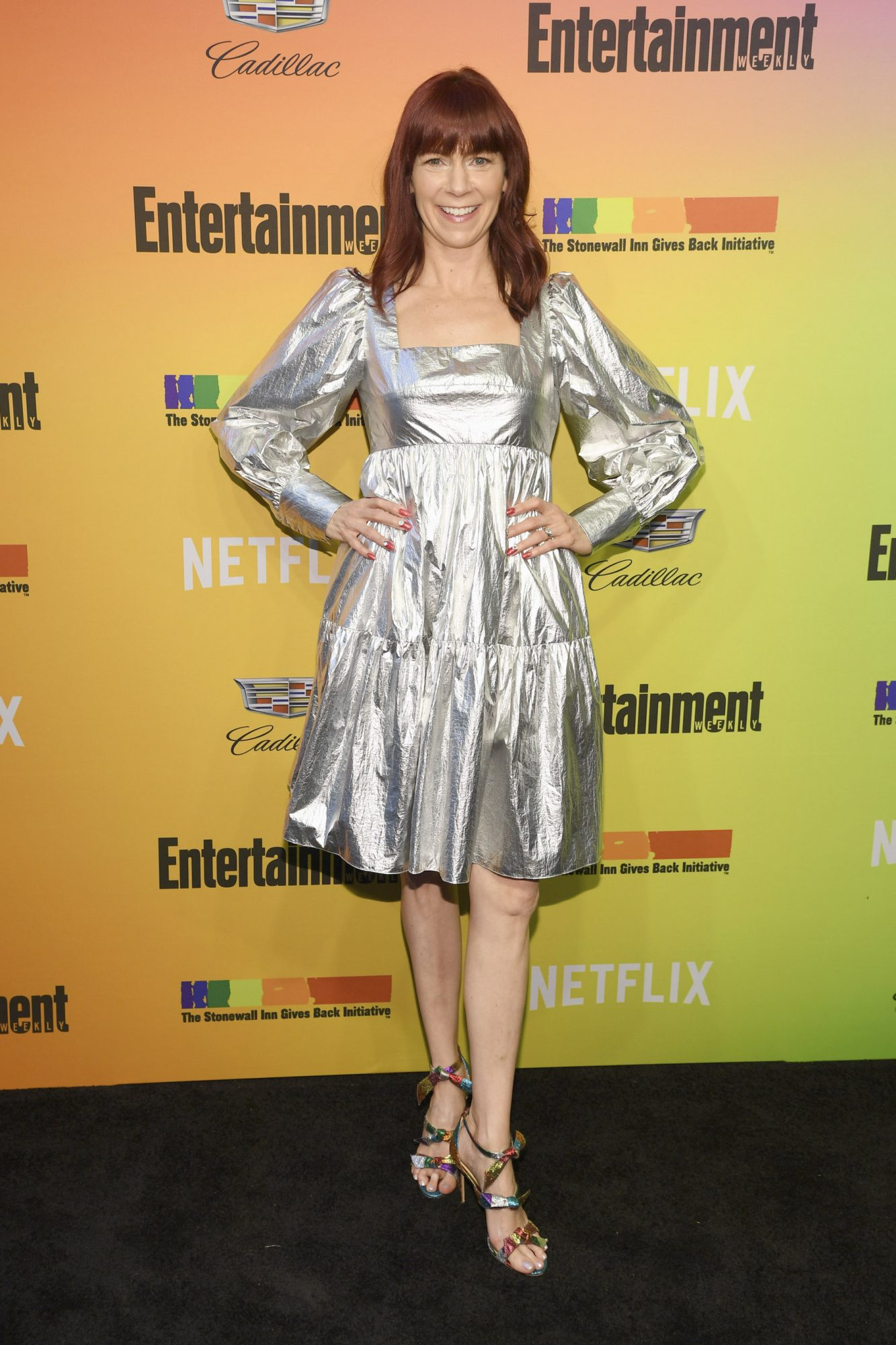 NEW YORK, NEW YORK - JUNE 05: Carrie Preston attends as Entertainment Weekly Celebrates Its Annual LGBTQ Issue at the Stonewall Inn on June 05, 2019 in New York City. (Photo by Dimitrios Kambouris/Getty Images for Entertainment Weekly)