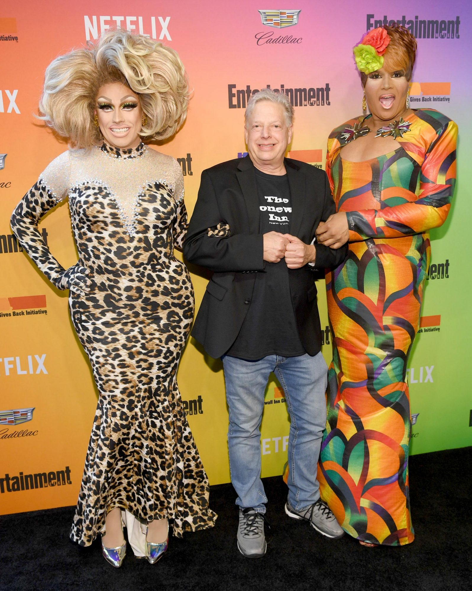 NEW YORK, NEW YORK - JUNE 05: (L-R) Logan Hardcore, Kurt Kelly, and Jacqueline Dupree attend as Entertainment Weekly Celebrates Its Annual LGBTQ Issue at the Stonewall Inn on June 05, 2019 in New York City. (Photo by Dimitrios Kambouris/Getty Images for Entertainment Weekly)