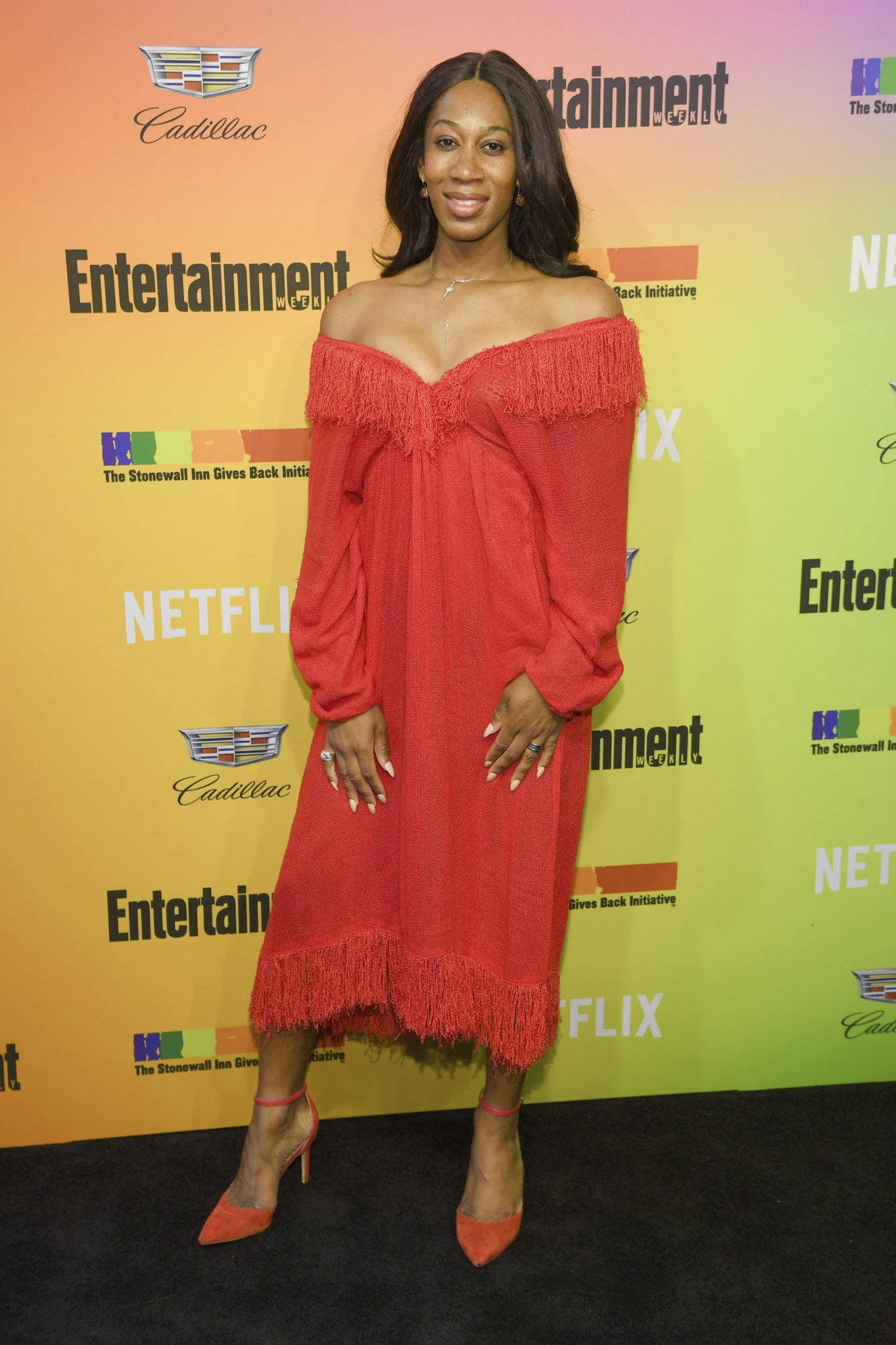 NEW YORK, NEW YORK - JUNE 05: Mila Jam attends as Entertainment Weekly Celebrates Its Annual LGBTQ Issue at the Stonewall Inn on June 05, 2019 in New York City. (Photo by Dimitrios Kambouris/Getty Images for Entertainment Weekly)